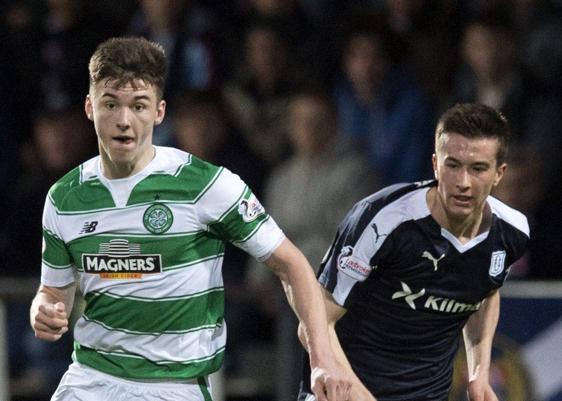 A Dundee v Celtic game at Dens.