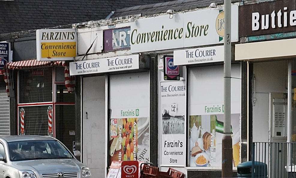The thieves targeted Farzinis Convenience Store on Clepington Road.