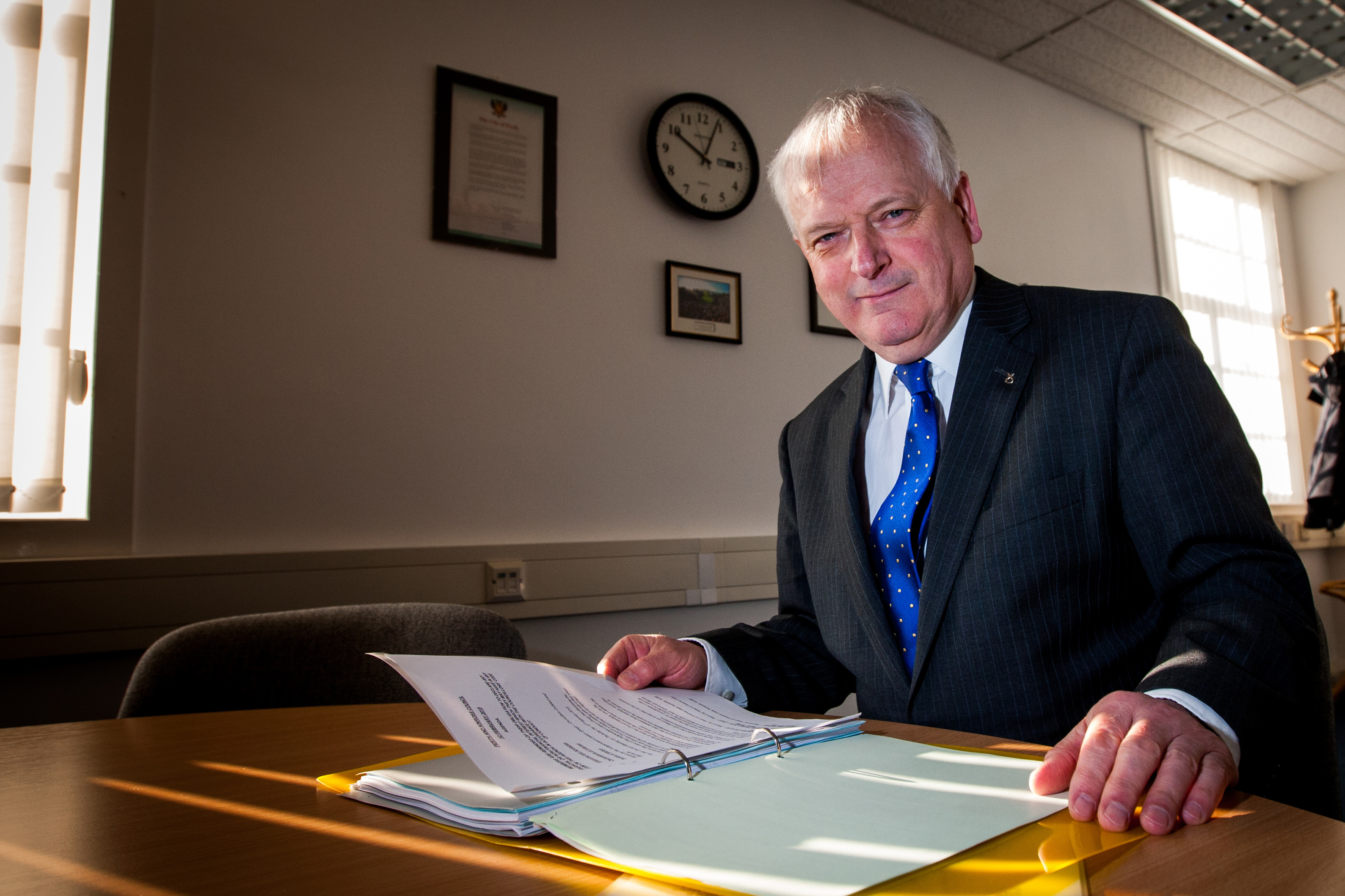 Leader of Perth and Kinross Council Ian Miller.