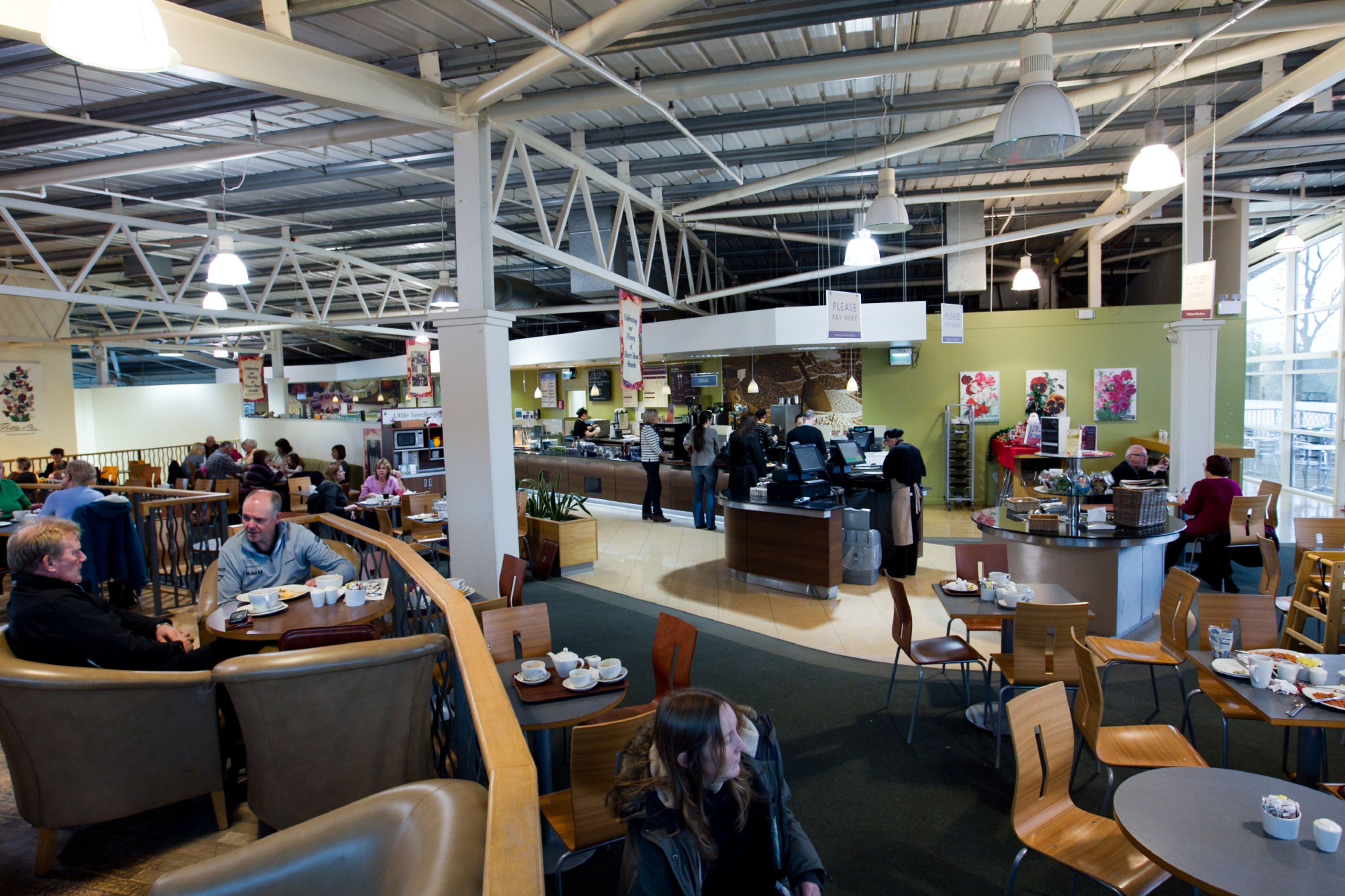 The popular cafe at Dobbies garden centre in Dundee