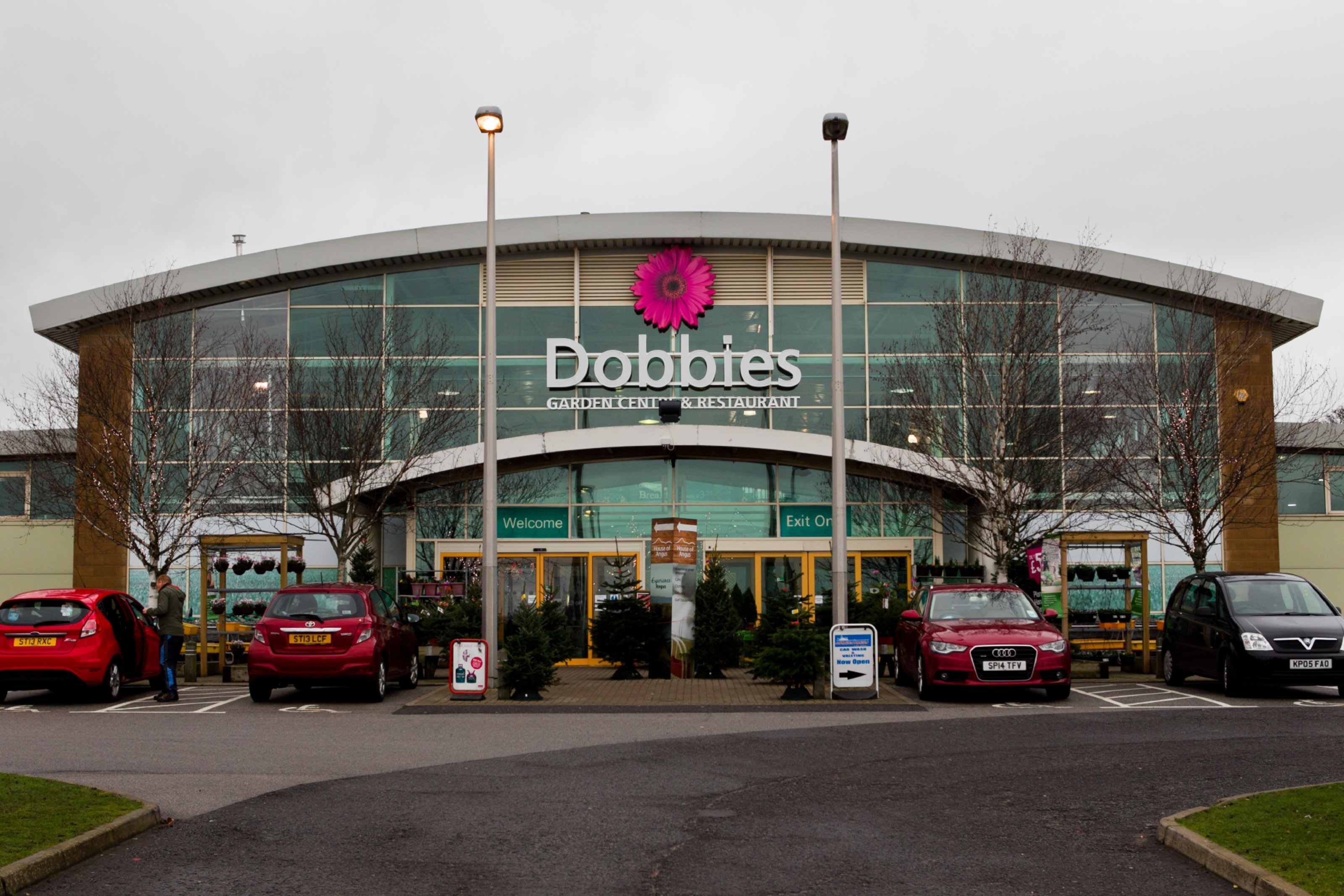 Dobbies Garden centre at Ethiebeaton in Angus