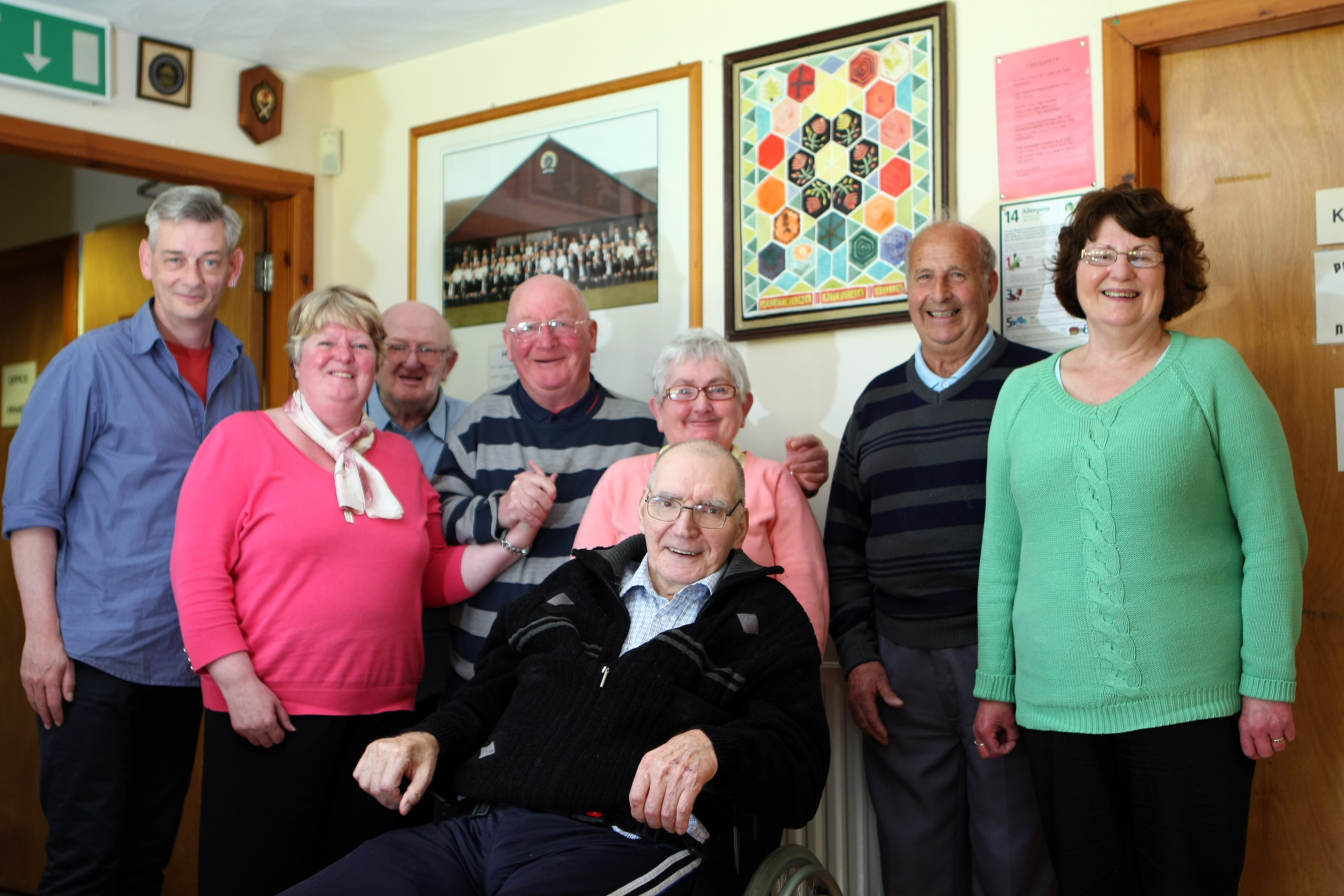 The cash will be used to help members of Montrose Stroke Club.