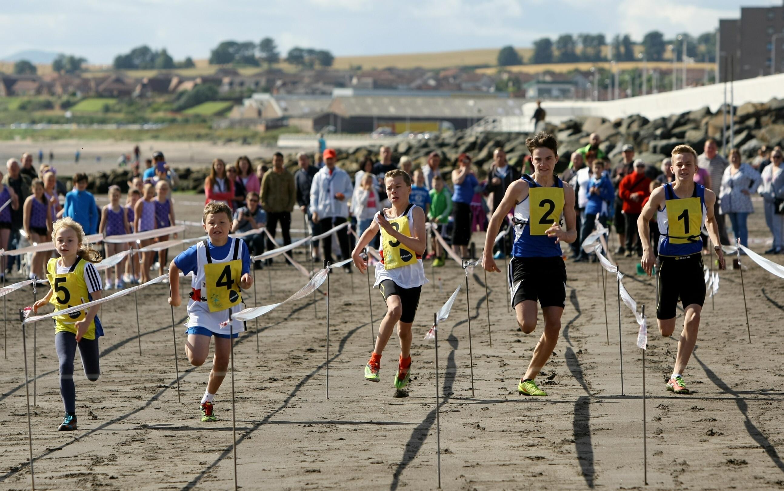 Kirkcaldy Beach Highland Games in 2015.
