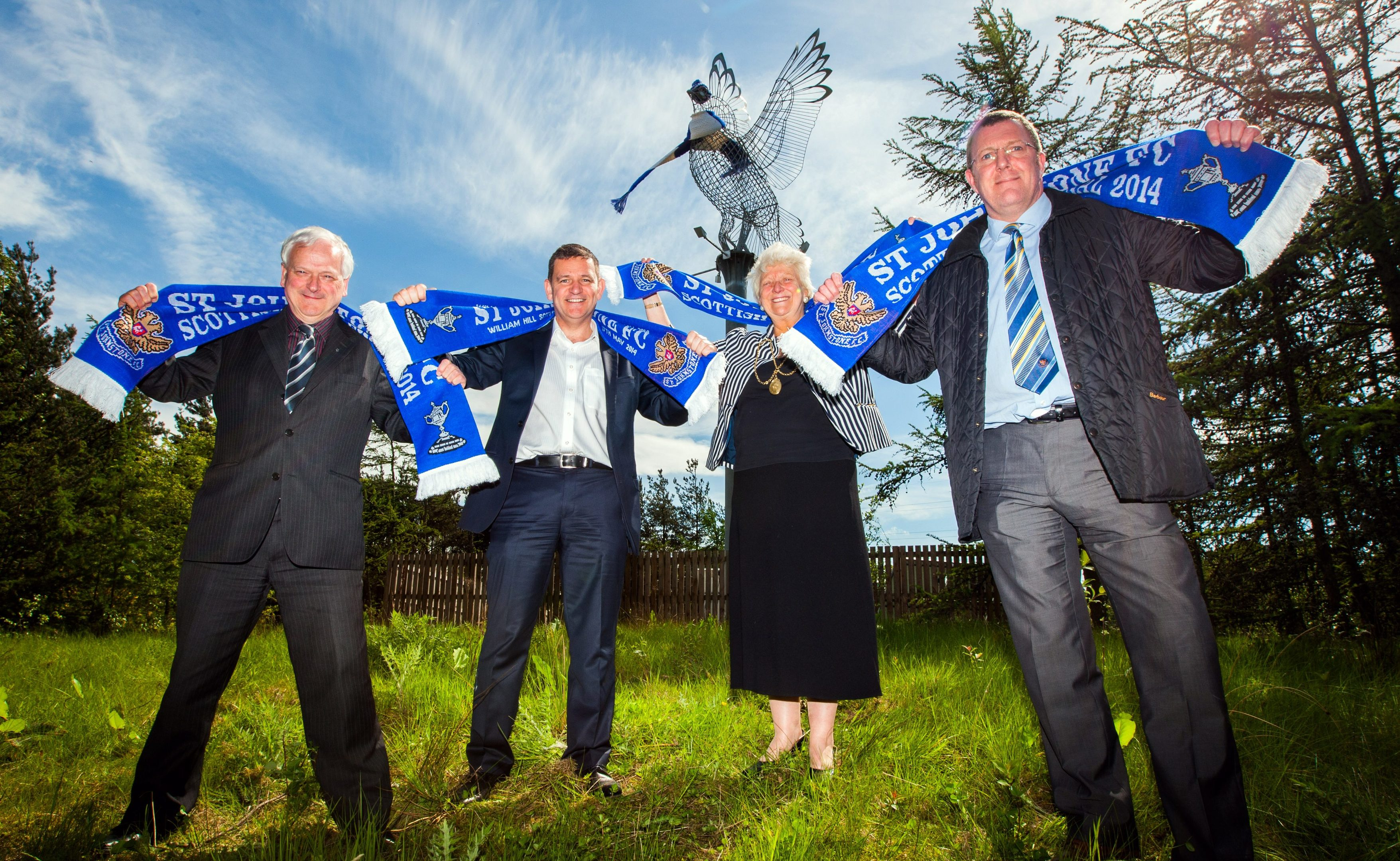 The council supported St Johnstone in their successful Scottish Cup campaign in 2014.