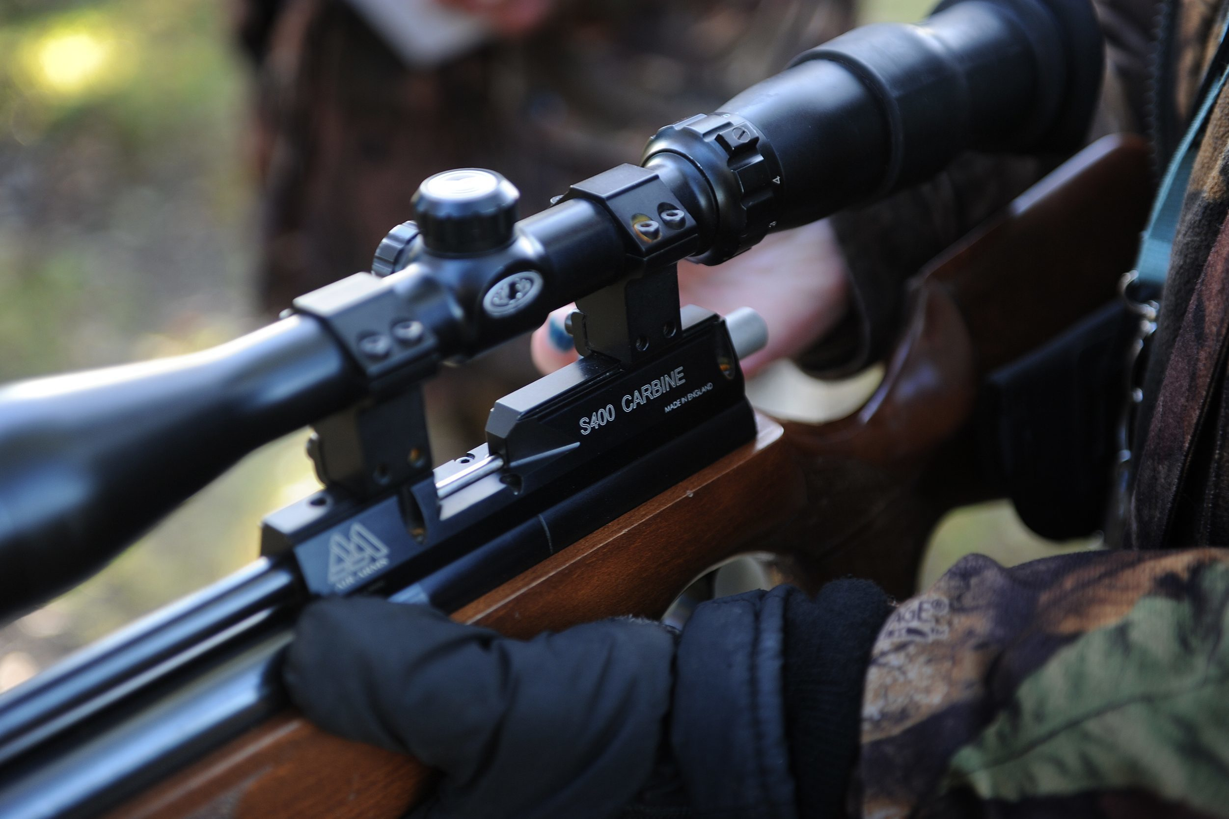 Delays in issusing air gun licences are causing stress, it has been claimed.