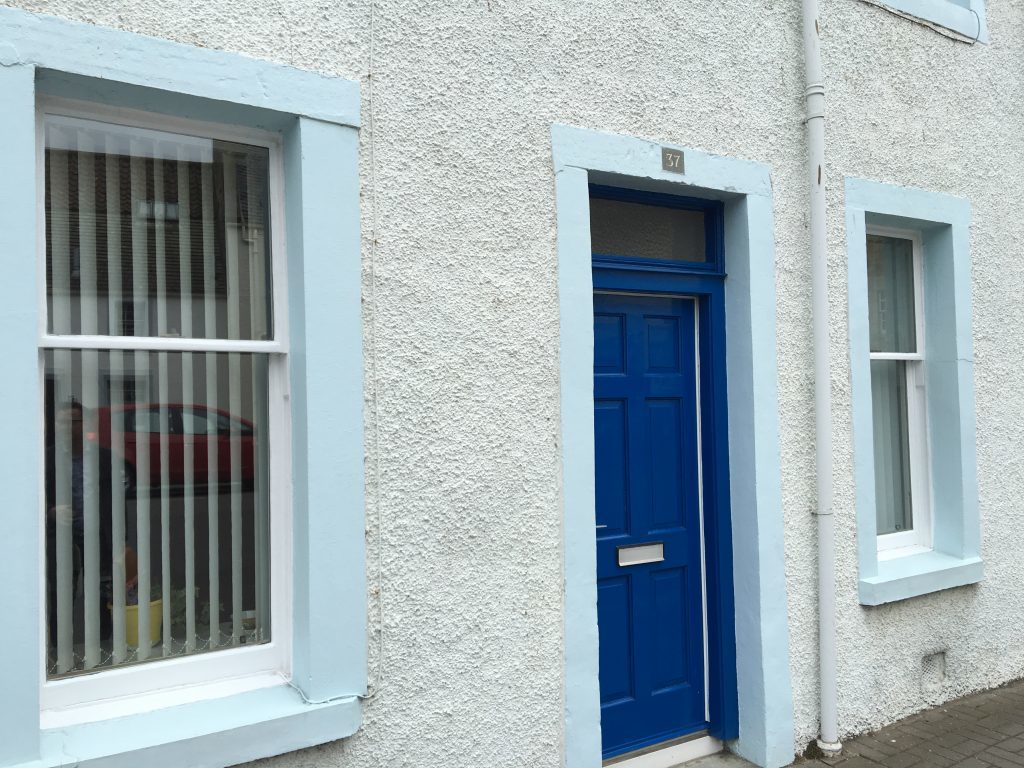 37 North Street where 'Old' Tom Morris lived as a teenager