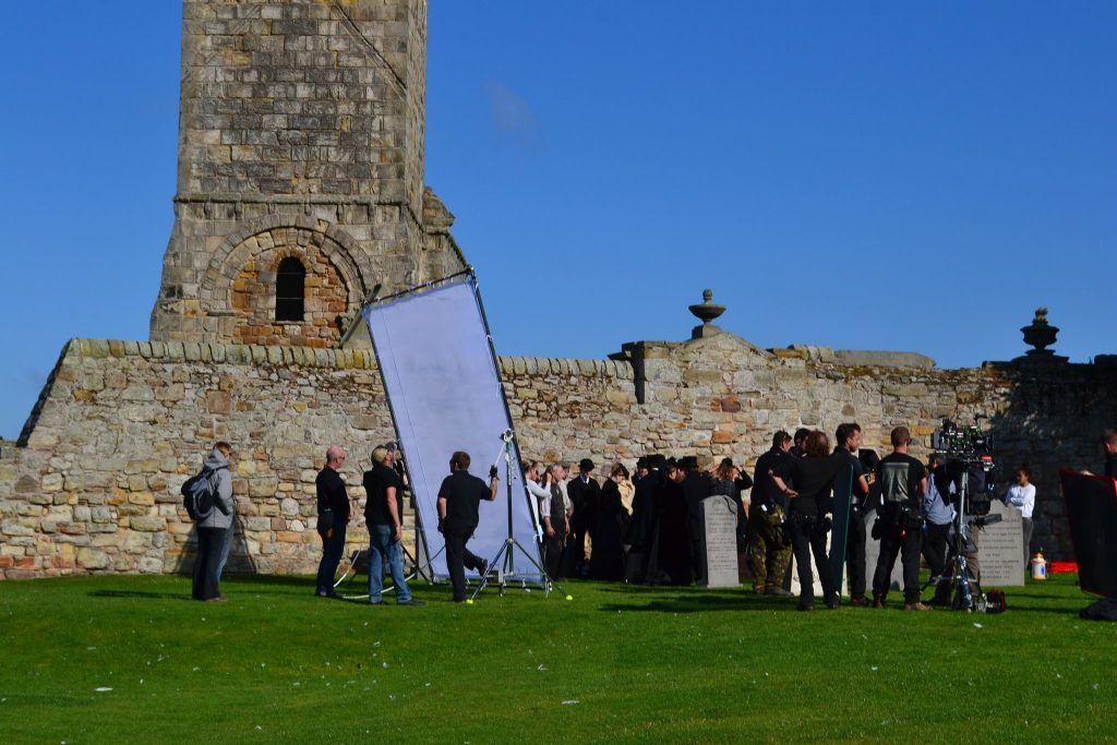 Tommys Honour was partly filmed in St Andrews Cathedral
