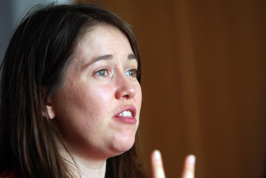 Public health minster Aileen Campbell