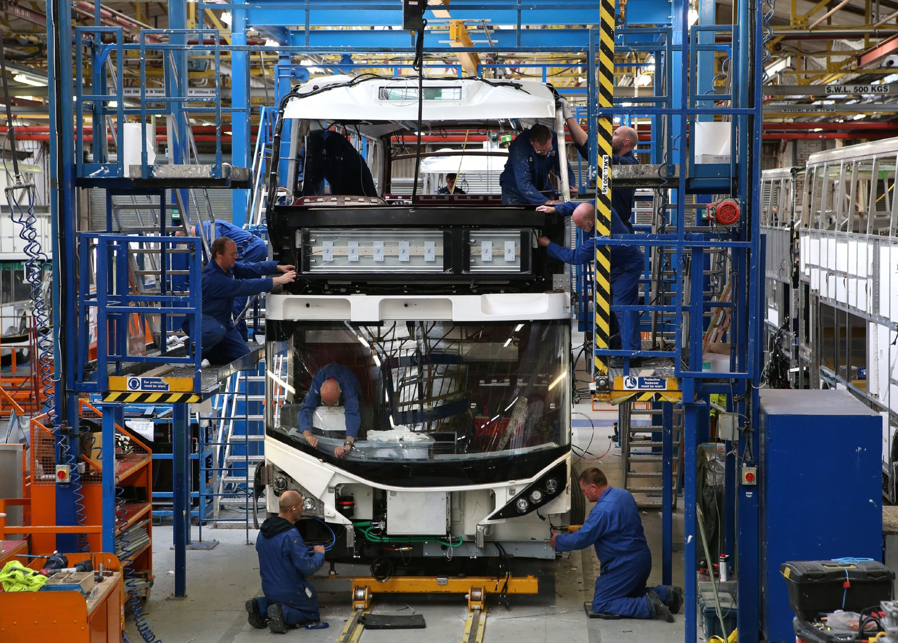 Falkirk bus manufacturer Alexander Dennis is planning to double turnover by 2020.
