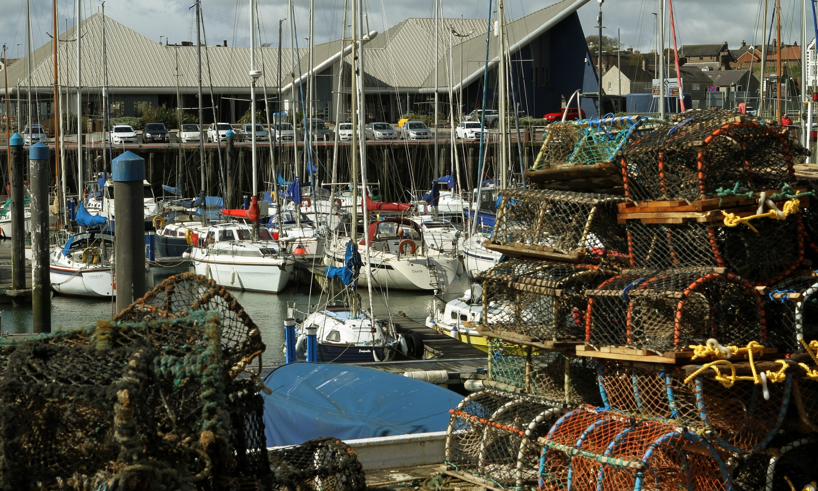 People have been warned against heading to popular spots like Arbroath harbour.