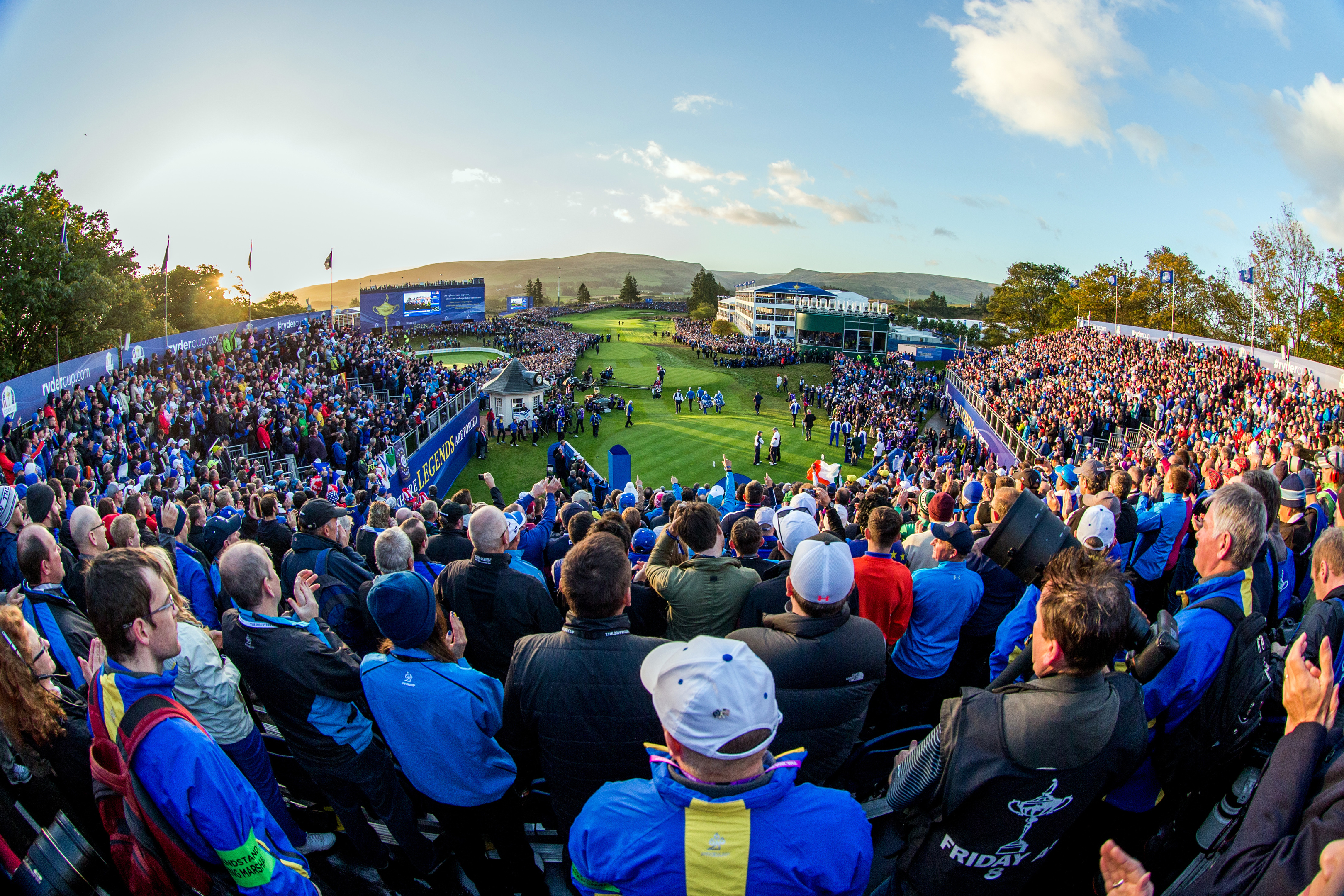 The Ryder Cup in 2014 was hailed as a huge success for the local economy.