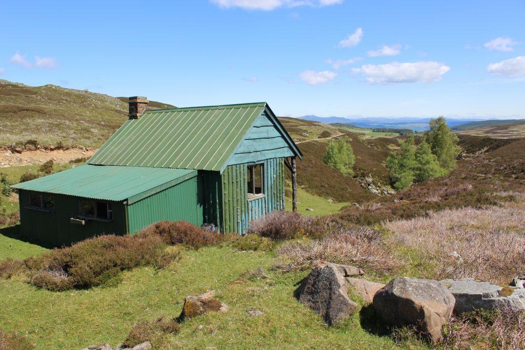 3. Estate hut overlooking Urlar Burn - James Carron Take a Hike June 18