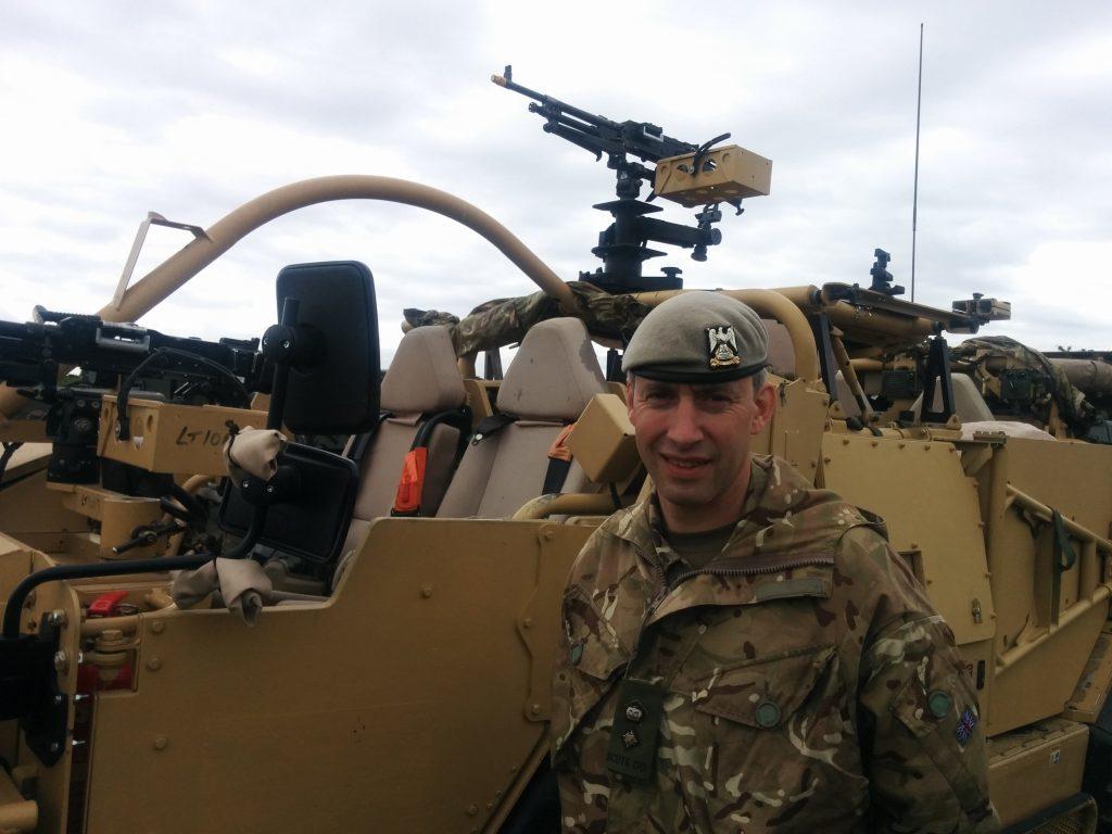 Leuchars Station Commander Lieutenant Colonel Dom Coombes