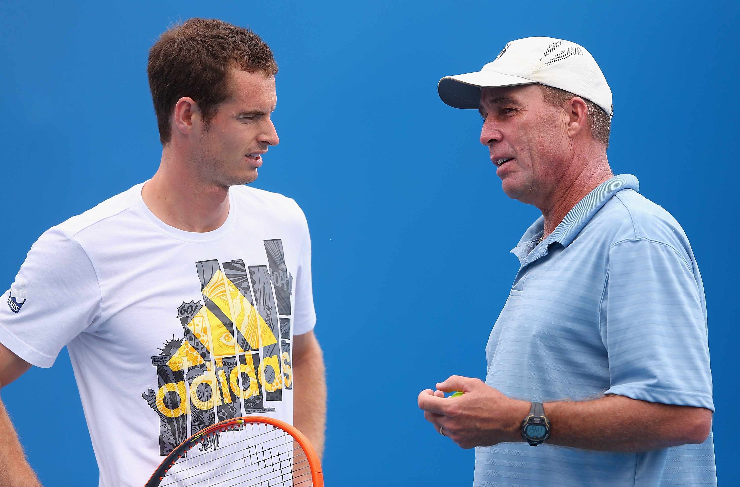 Andy Murray has been joined by Ivan Lendl in time for Queen's Club.