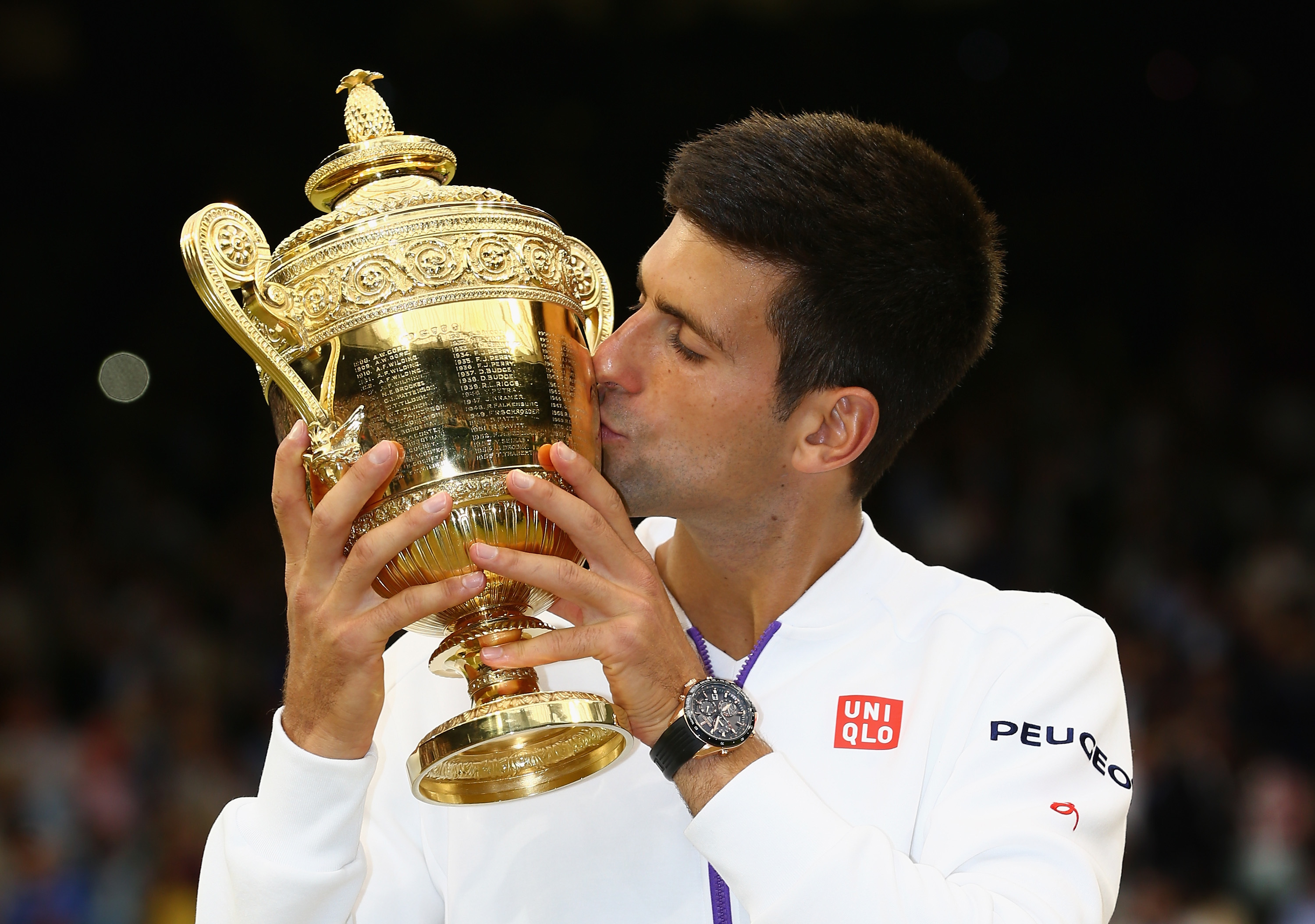 Novak Djokovic will be the man to beat at Wimbledon.