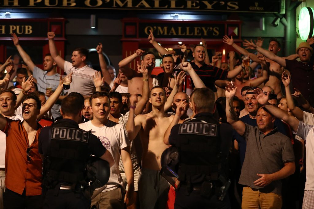 England Fans Arrive In Marseille For The Start Of UEFA Euro 2016