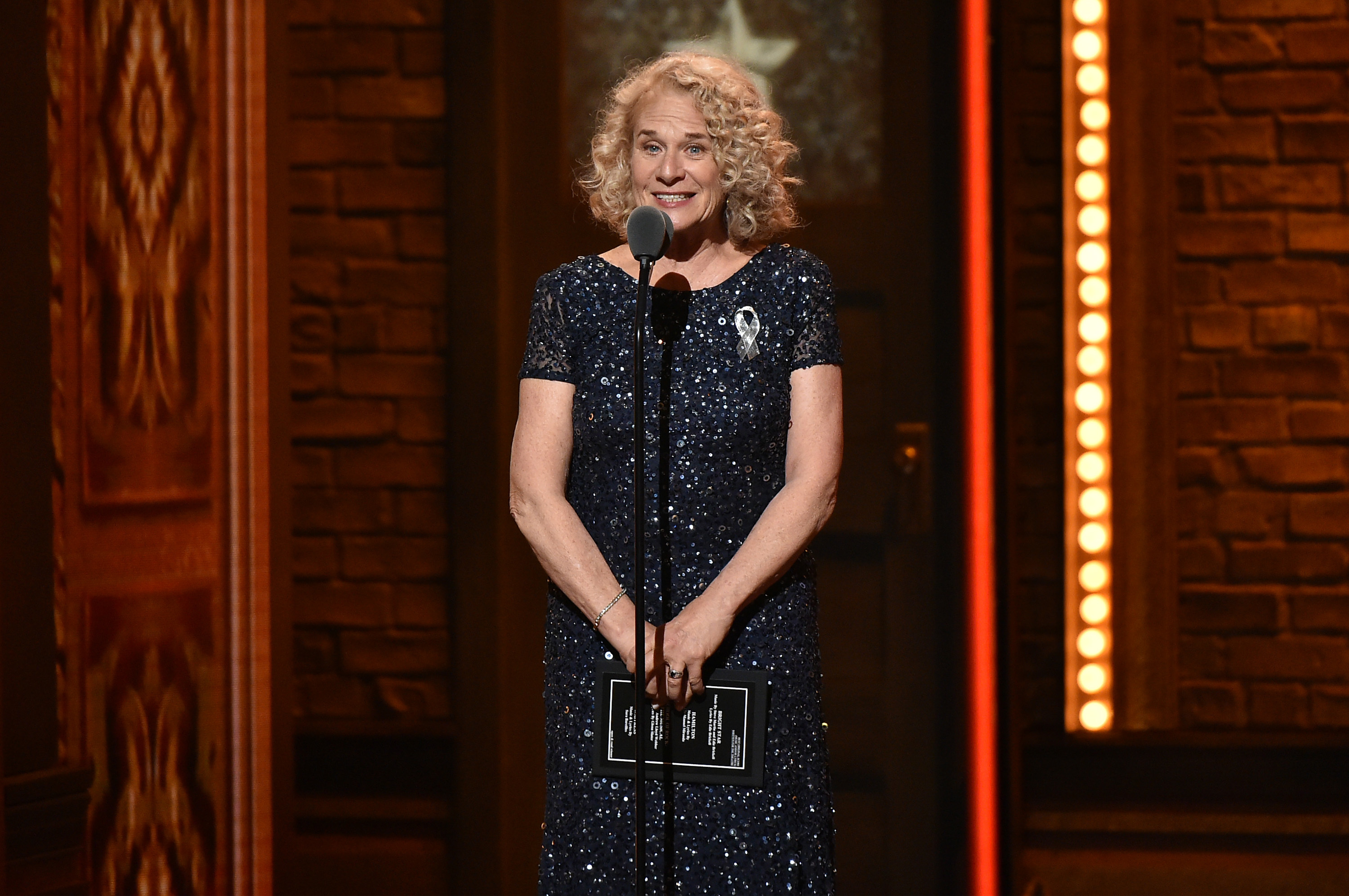 The show will celebrate the music of Carole King as well as James Taylor.