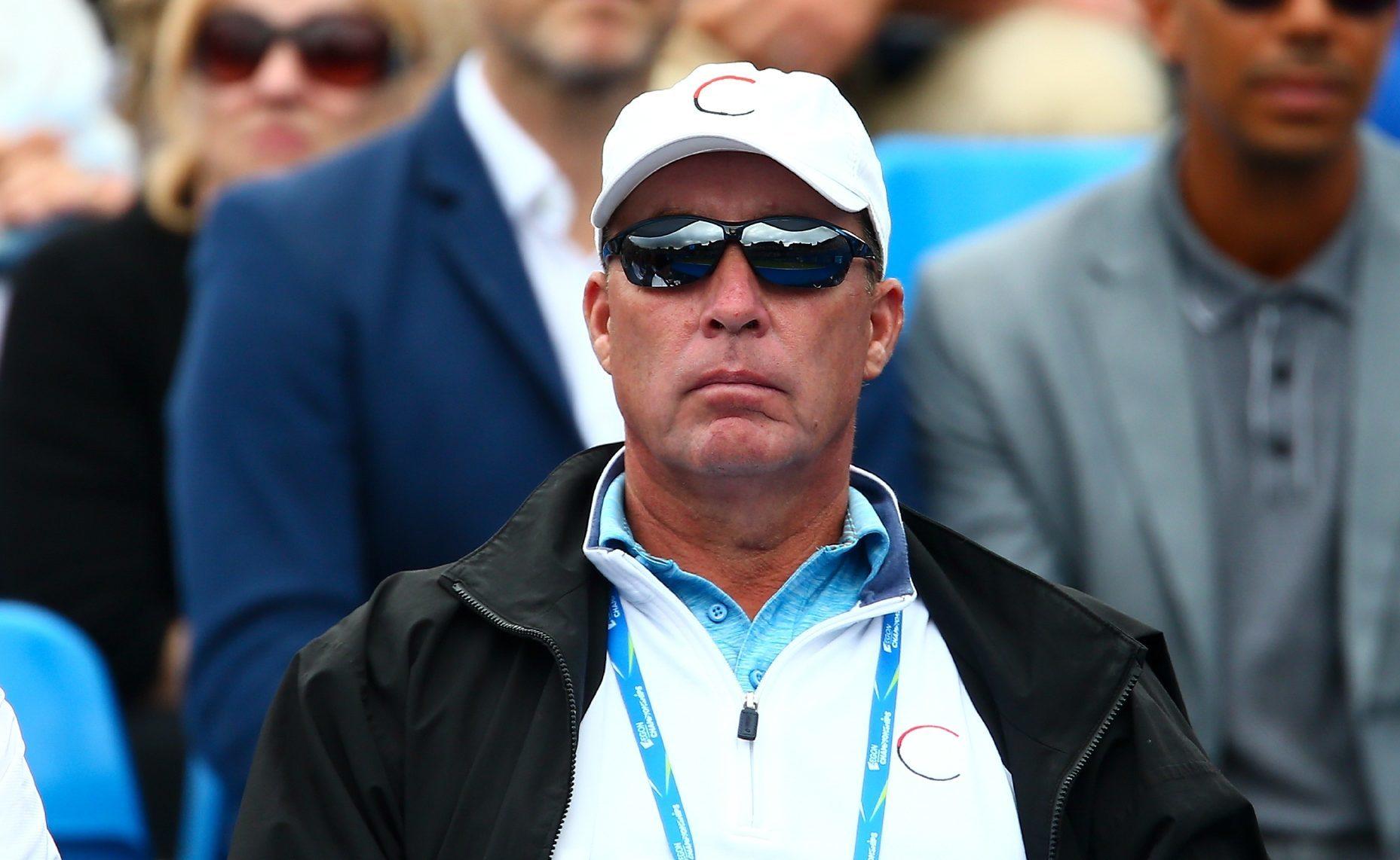 Andy Murray's coach, Ivan Lendl.