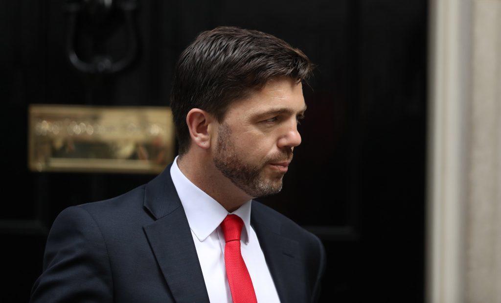 Work and Pensions Secretary Stephen Crabb.