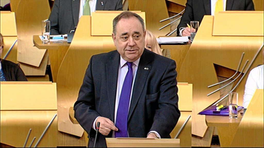 Alex Salmond is stepping up his calls for a Saltire emoji.