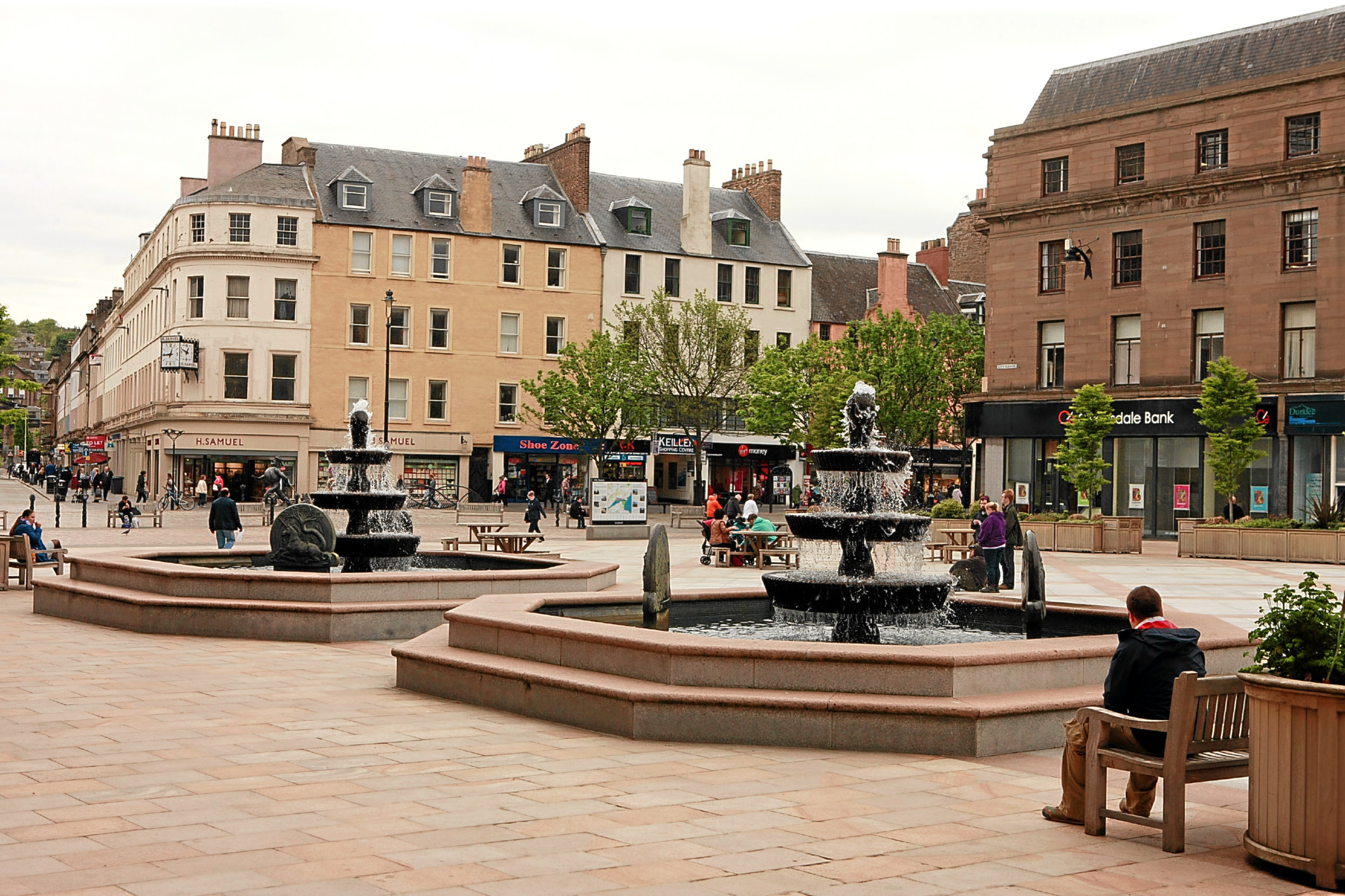 The scheme was launched in City Square.