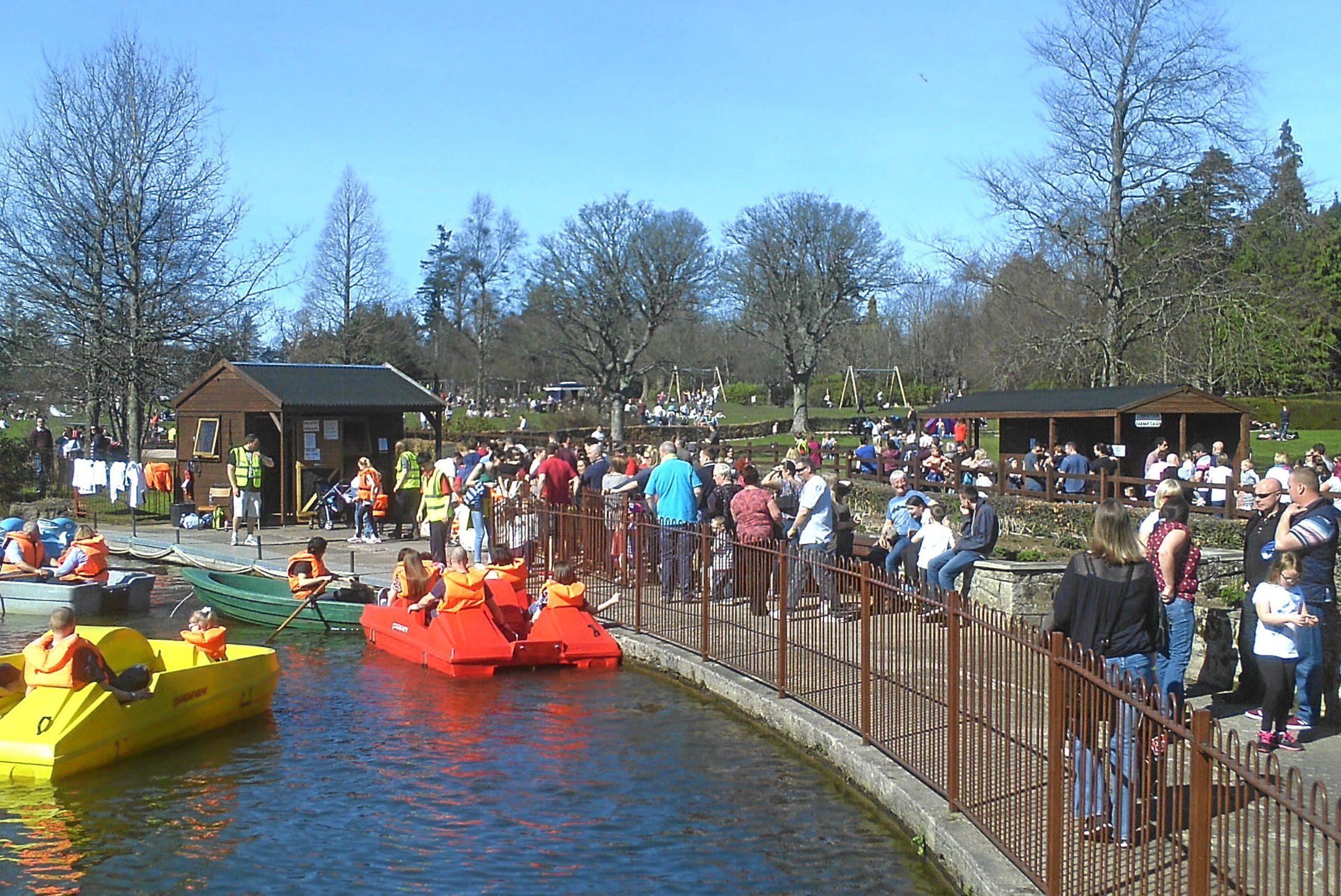 Craigtoun Park is preparing for its busy summer season.