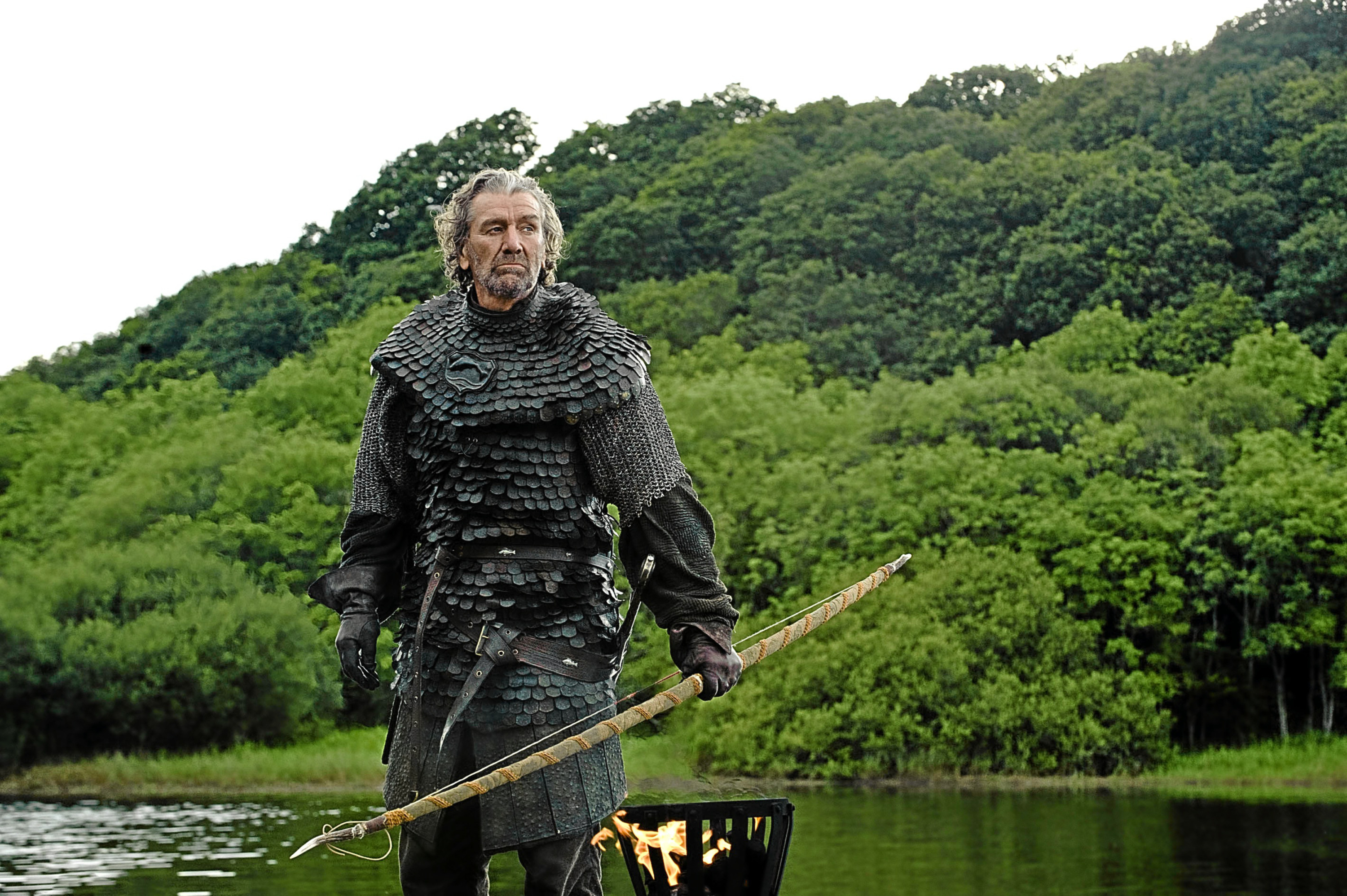 "Clive Russell as Ser Brynden ""The Blackfish"" in Game of Thrones."