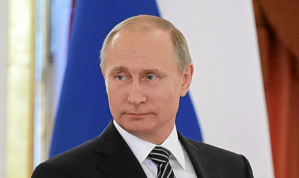 Putin is like the wee man in the bar who survives by punching first, says Alex.
