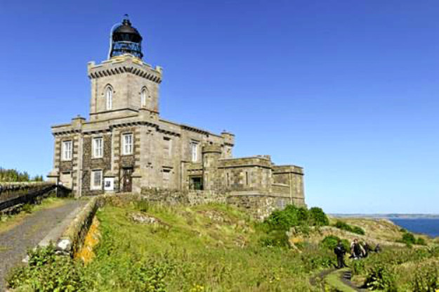 The lighthouse will be opened to the public and host an art exhibition.