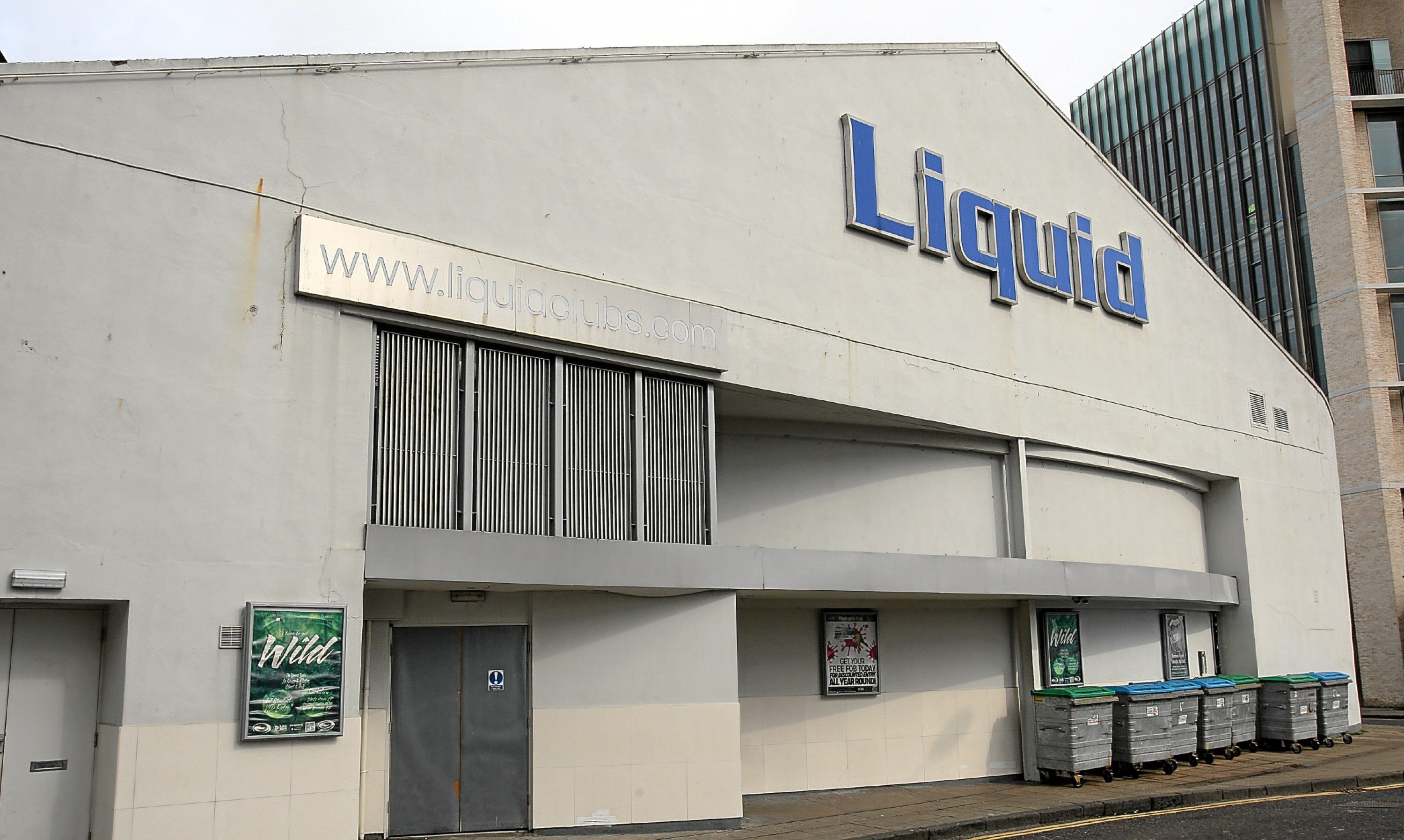 Liquid in South Ward Road is Dundee's largest nightclub venue