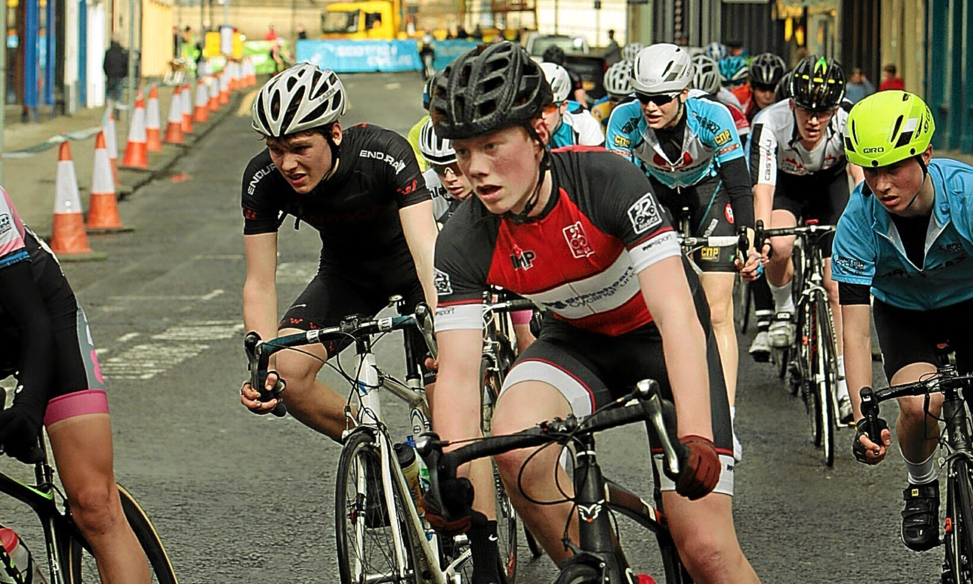 Perth has attracted many major events including the GB Youth Cycling Tour