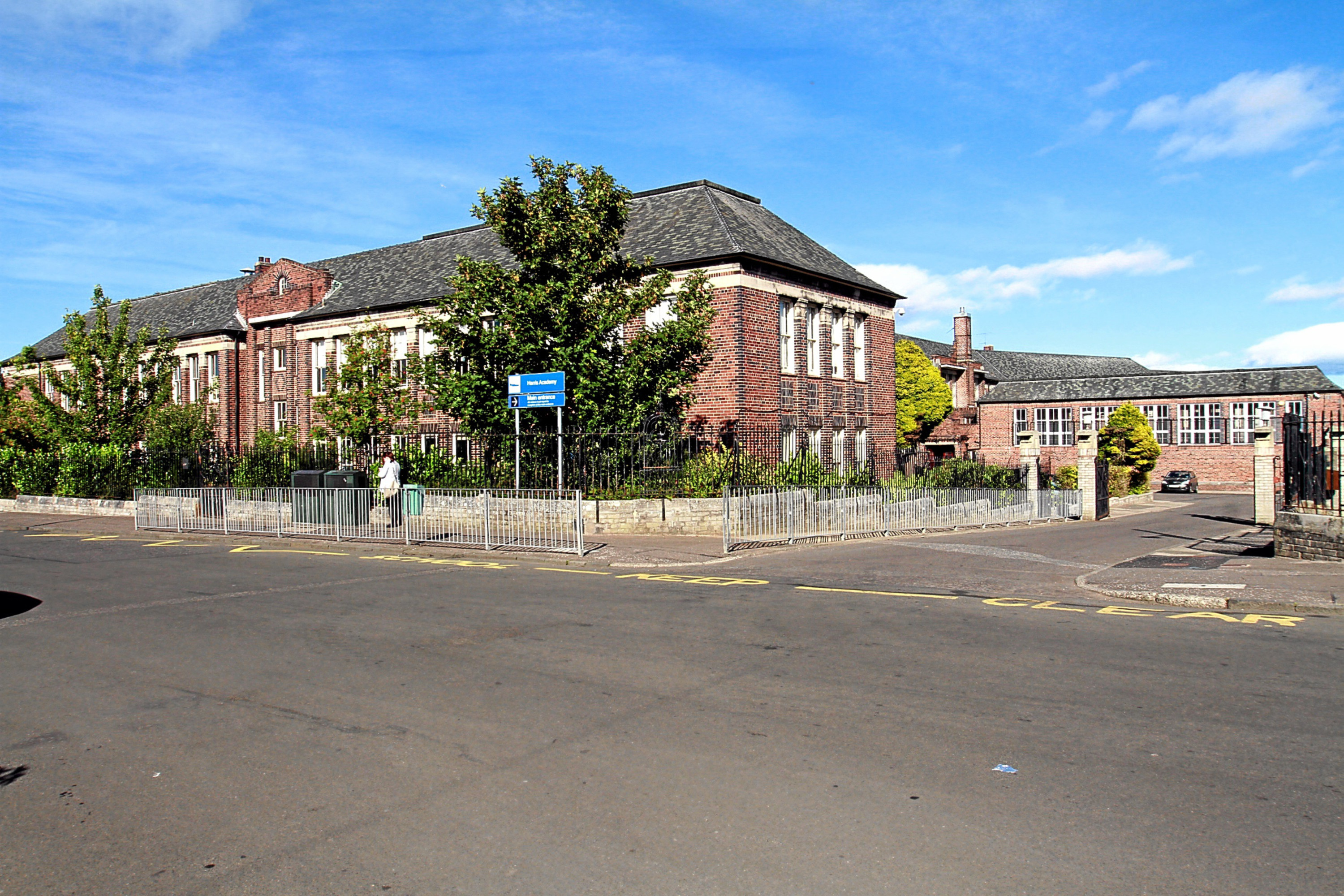 The former Rockwell High School.
