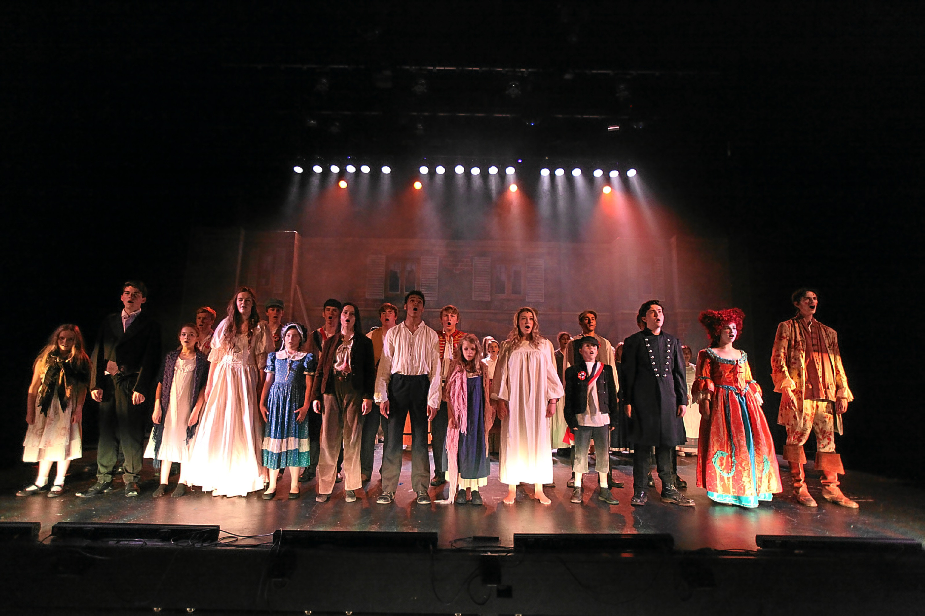 Dundee High students will stage a production of Les Miserables.