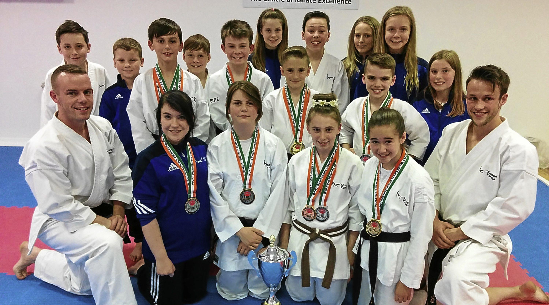 Kanzen Karate Scotland enjoy success at WUKF World Championships in Dublin.