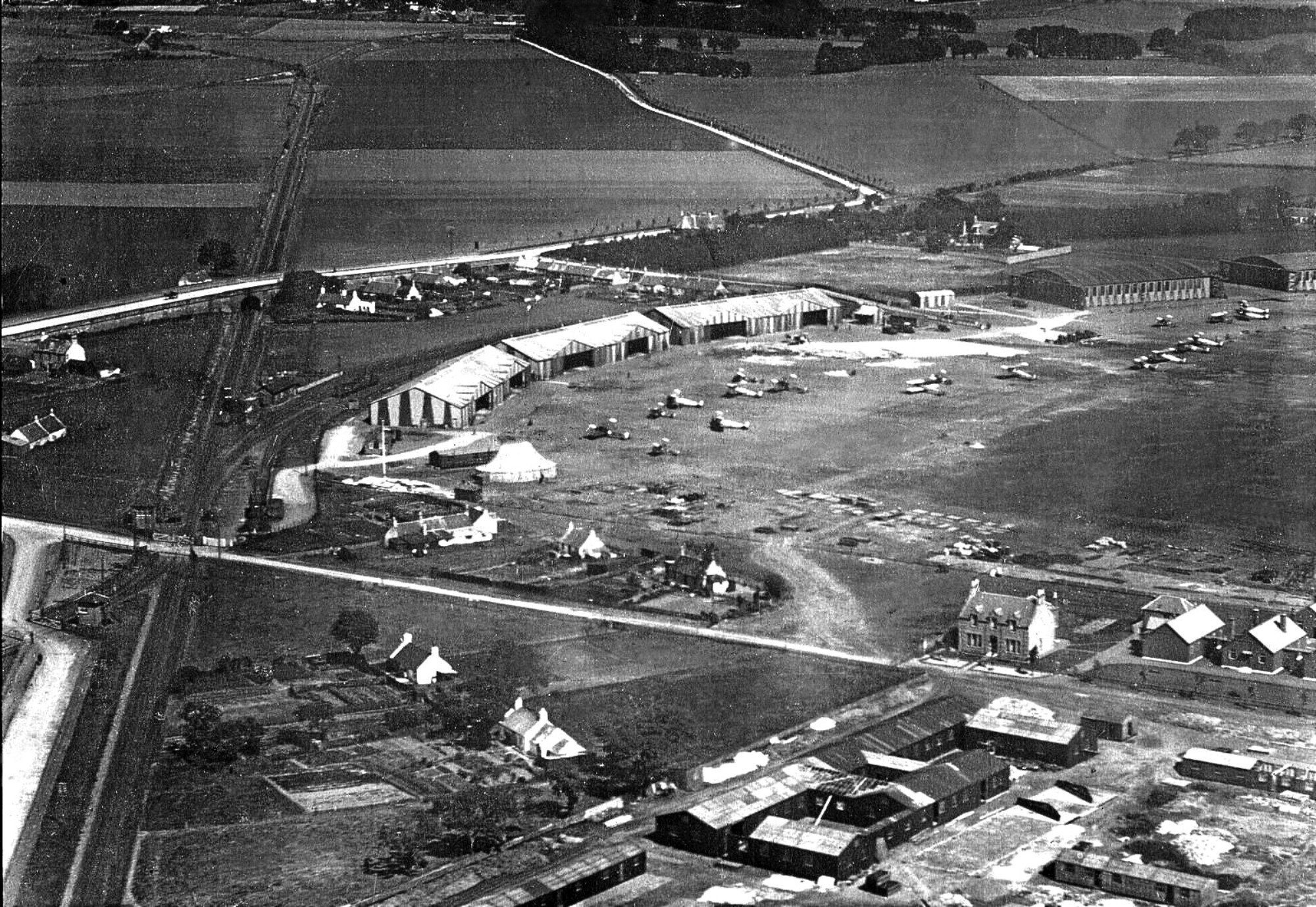 Montrose Air Station while it was operational.
