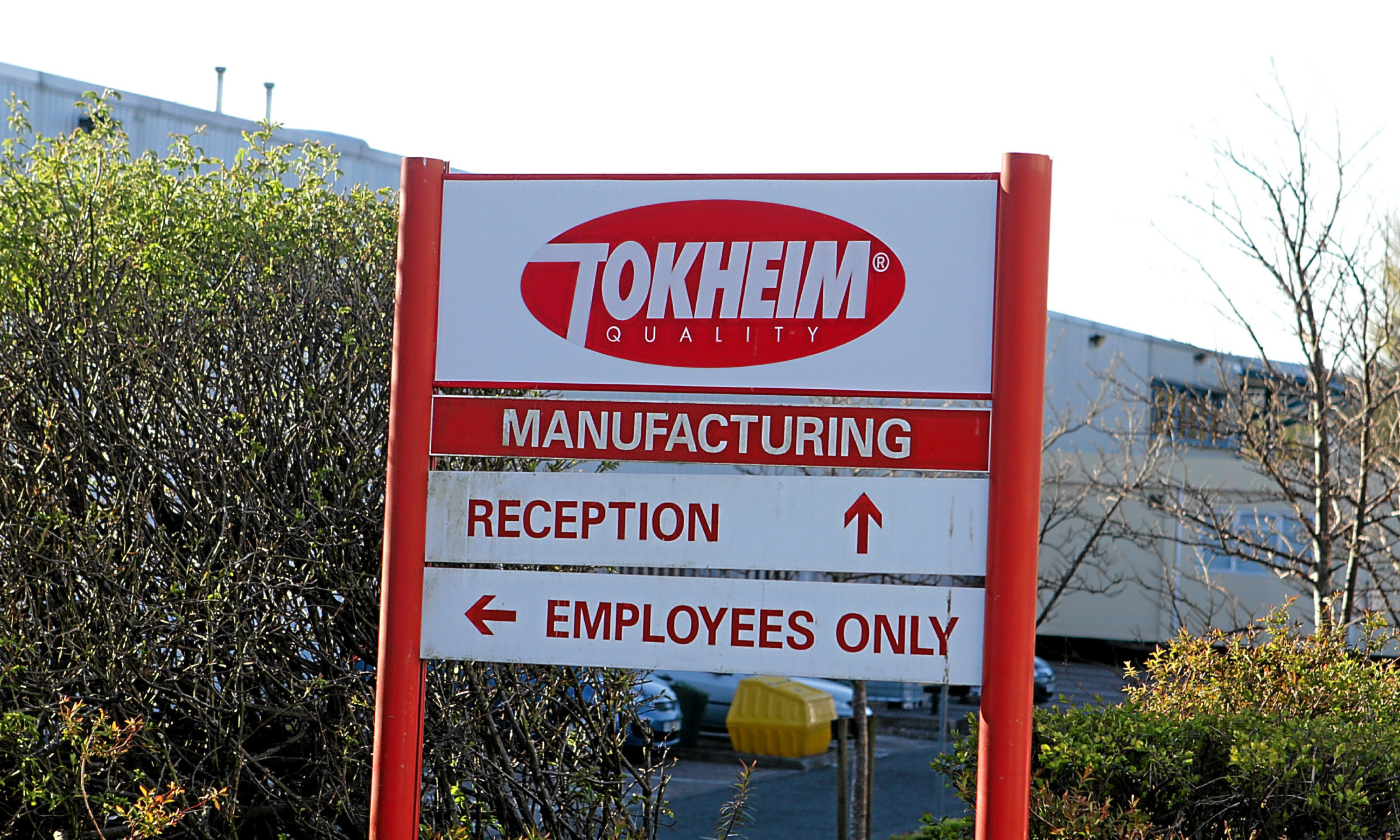 Tokheim's manufacturing plant at West Pitkerro Industrial Estate in Dundee