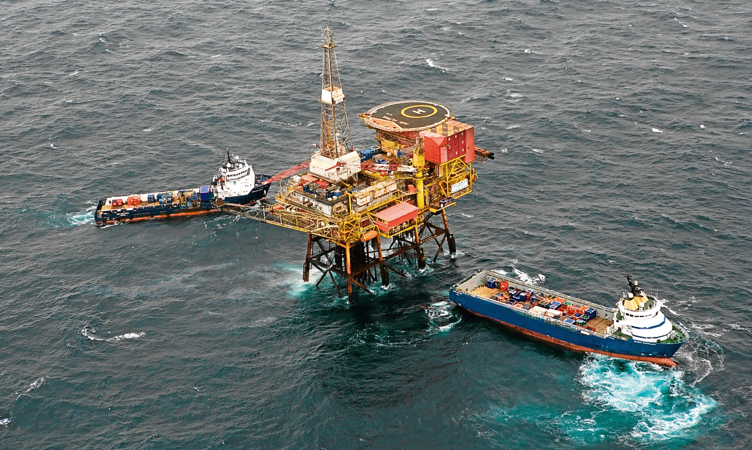 Wood Group said the North Sea remained a challenging environment