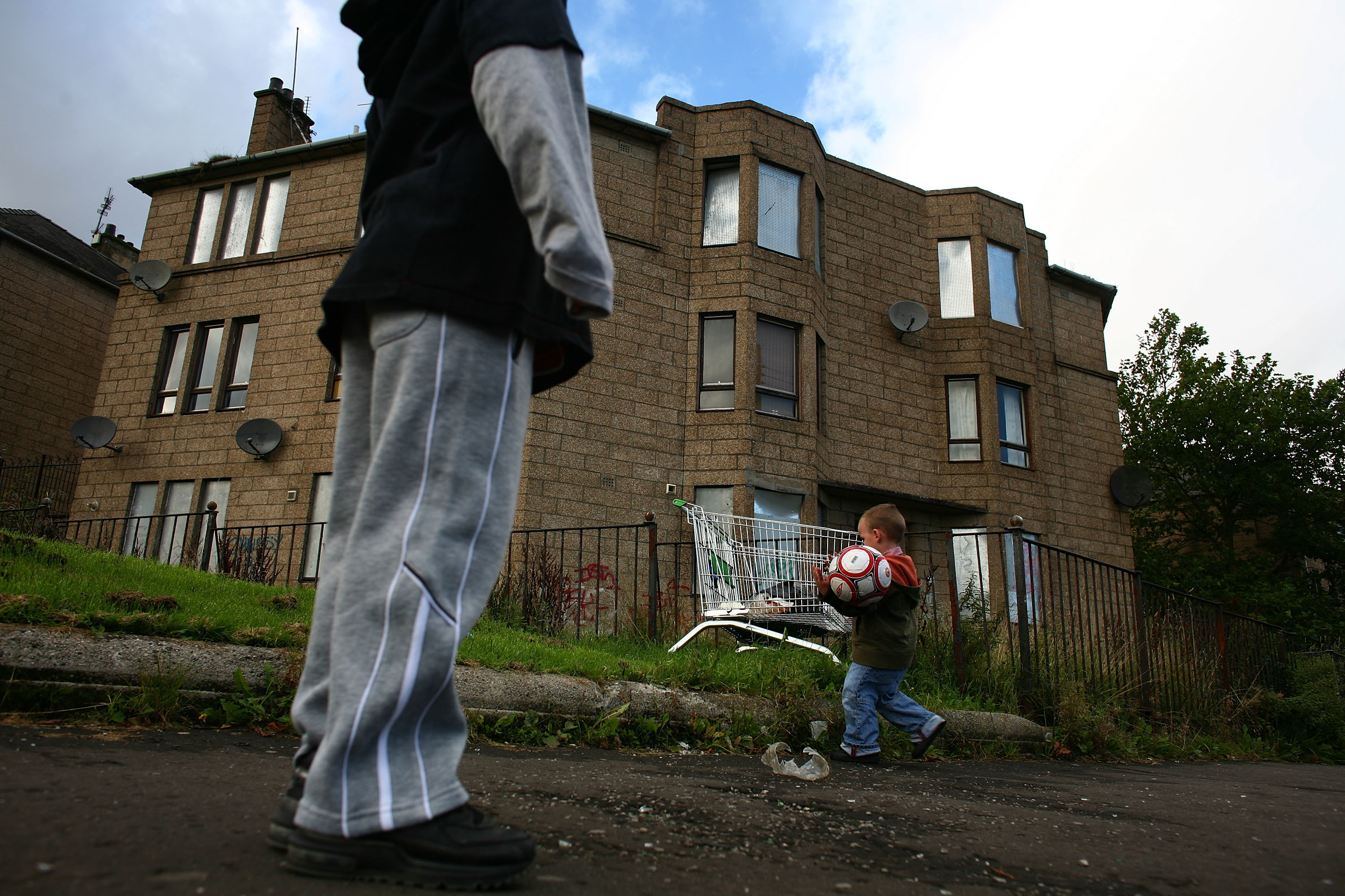 Figures show the gap between rich and poor is growing.