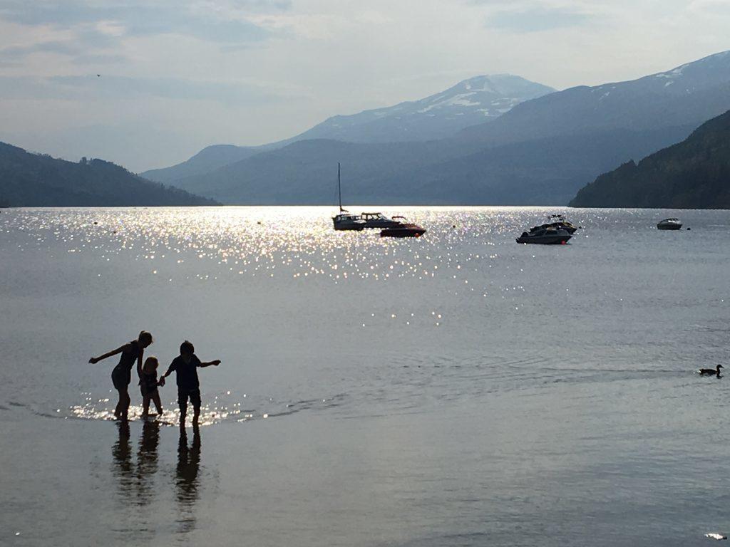 Loch Tay looking resplendent