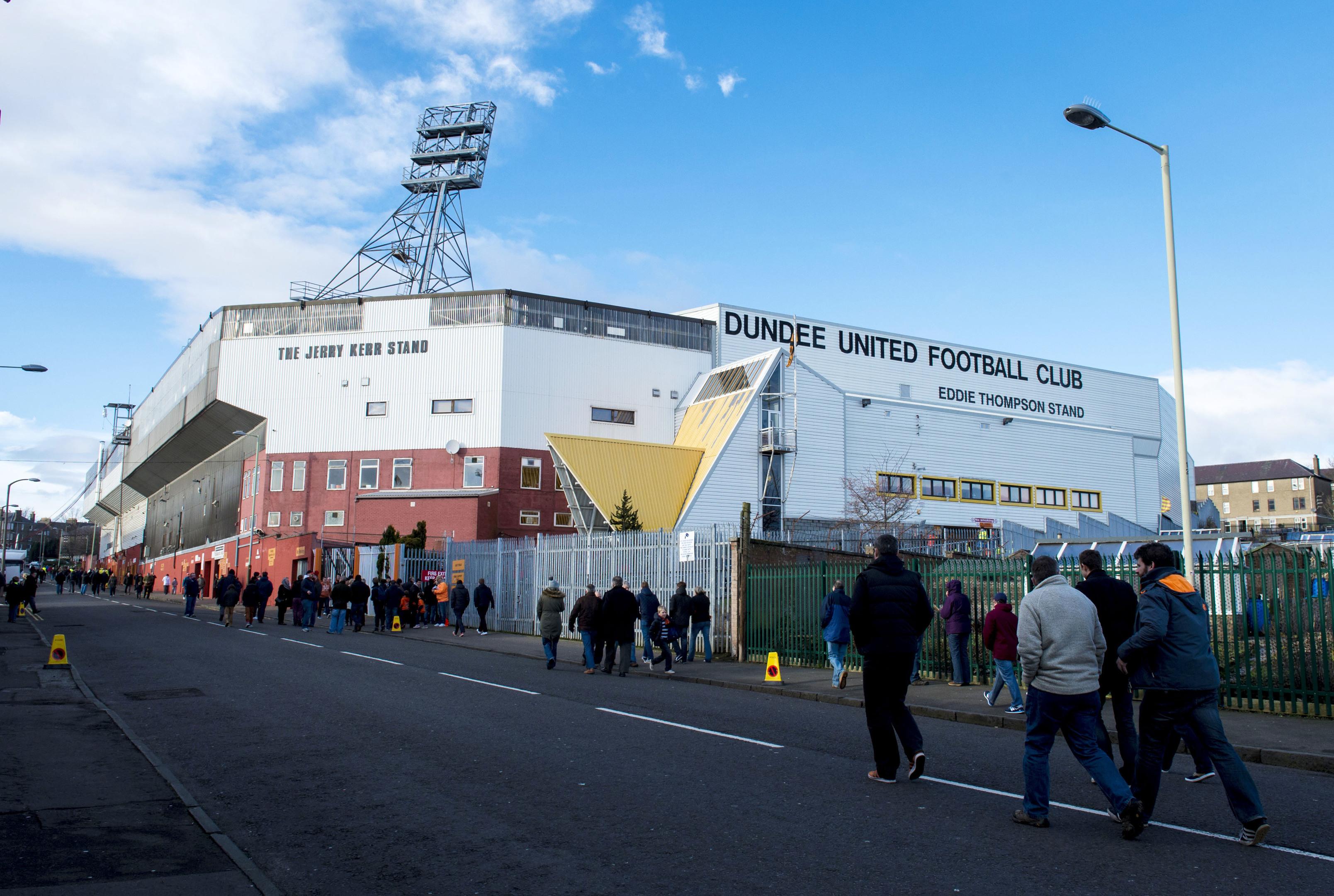 Dundee United's Tannadice Park.