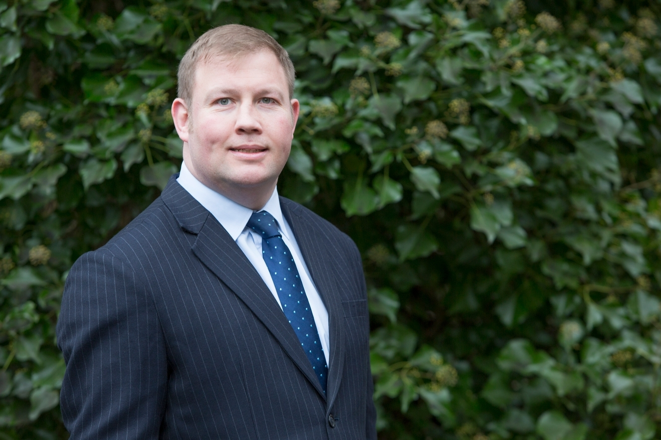 Alan Laidlaw will oversee a £20million investment in the Royal Highland Centre.