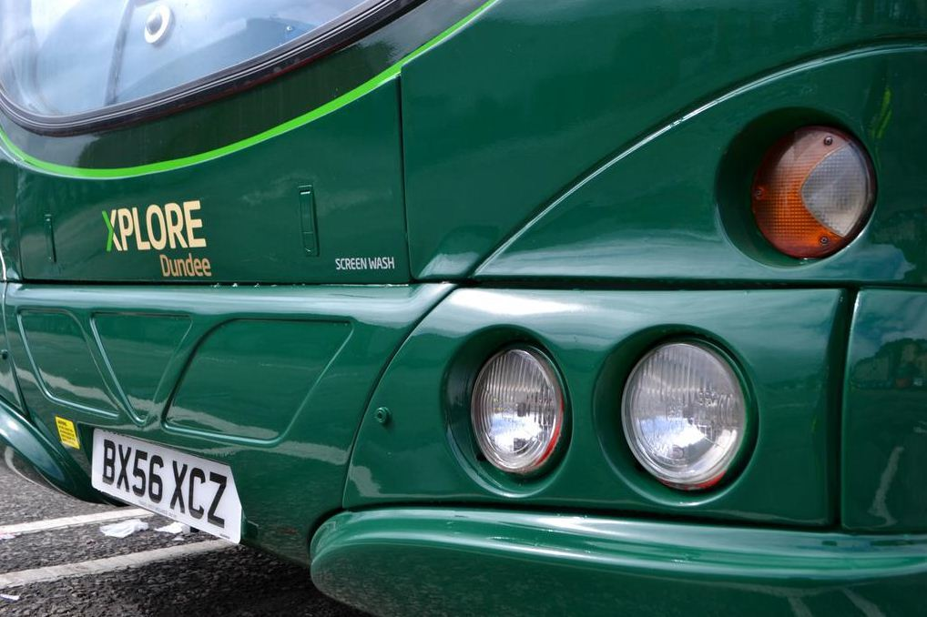 Xplore Dundee's buses have been attacked in Whitfield.