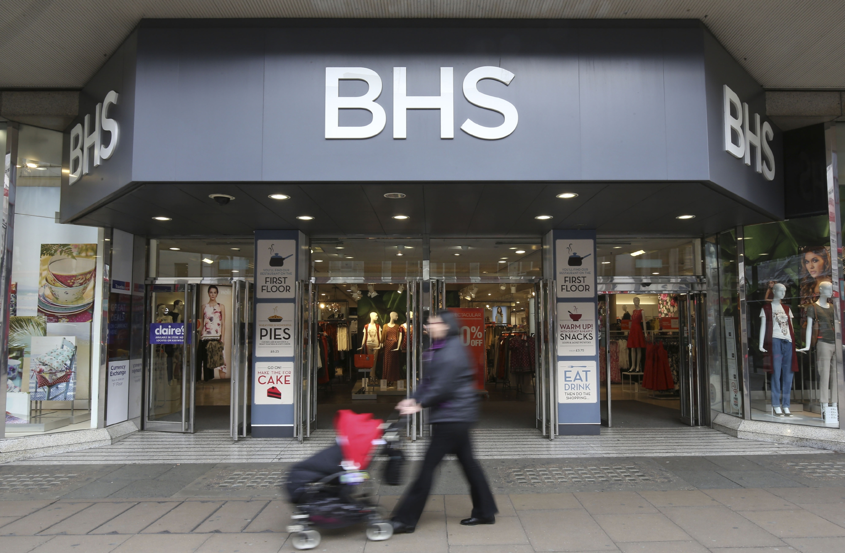 BHS is one of the best known names on the UK high street.