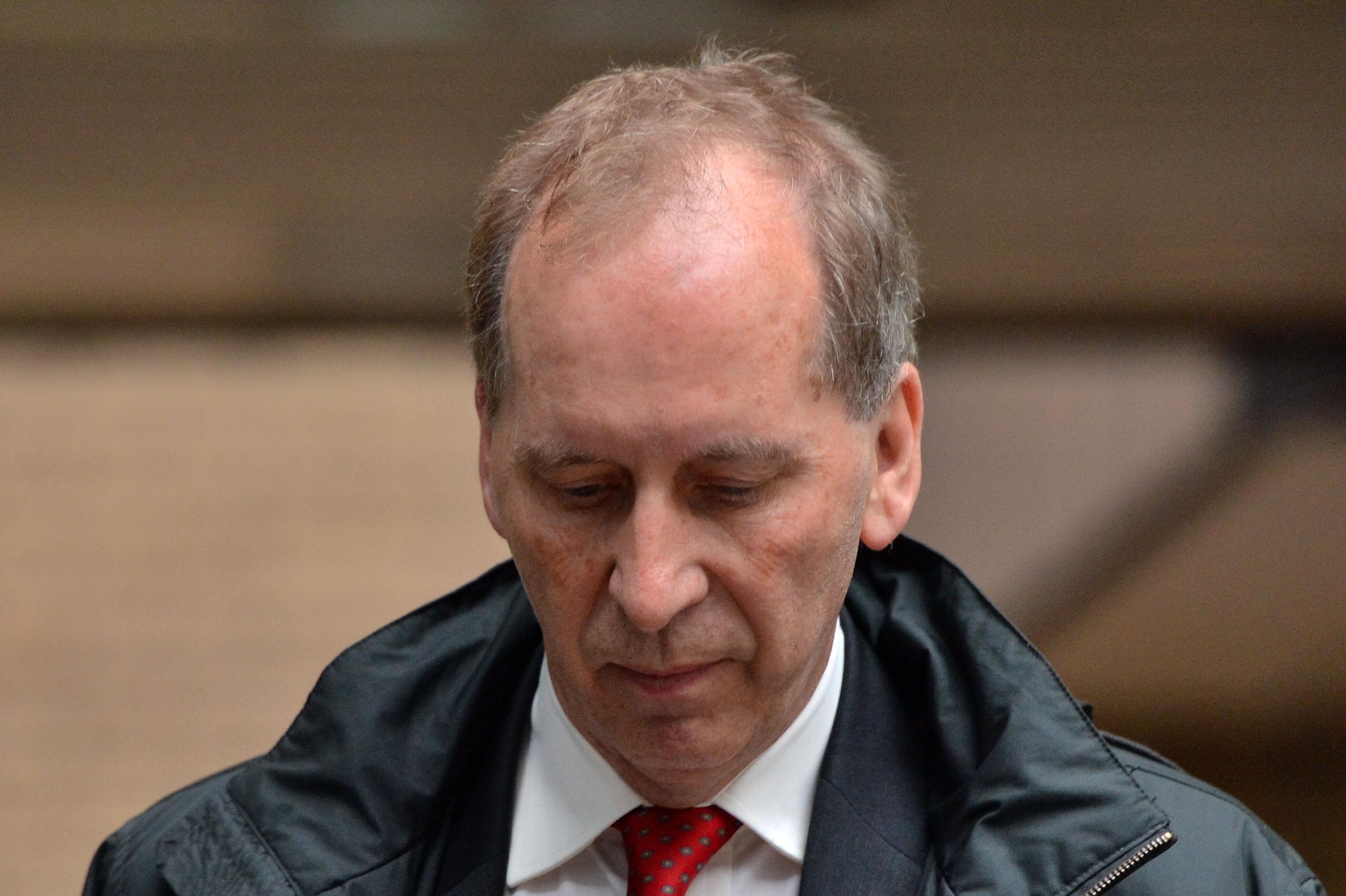 Patrick Rock leaves Southwark Crown Court in London