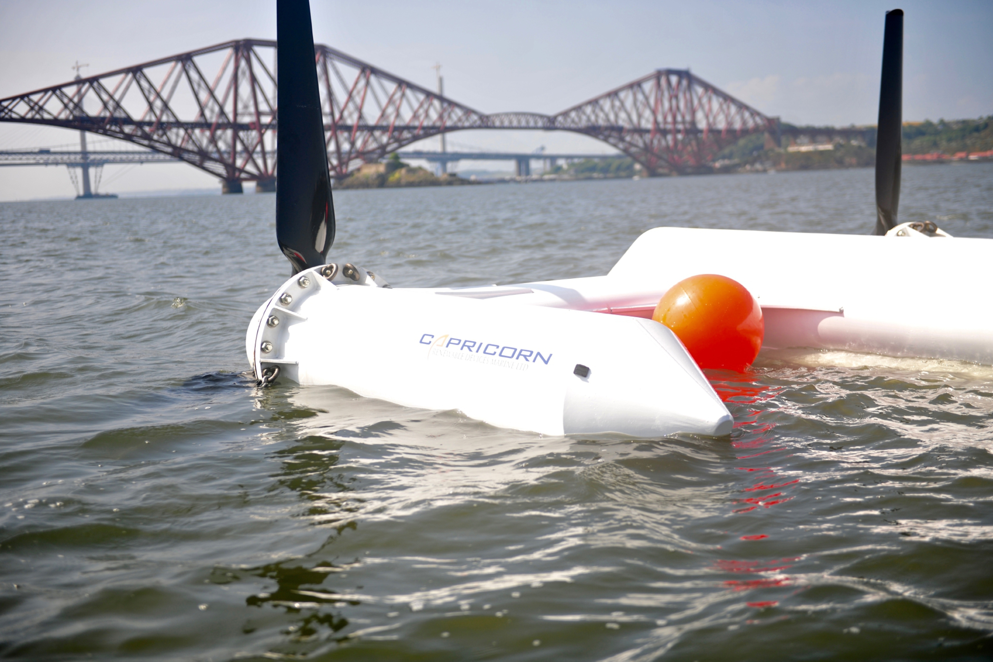 Capricorn prototype in the Firth of Forth.