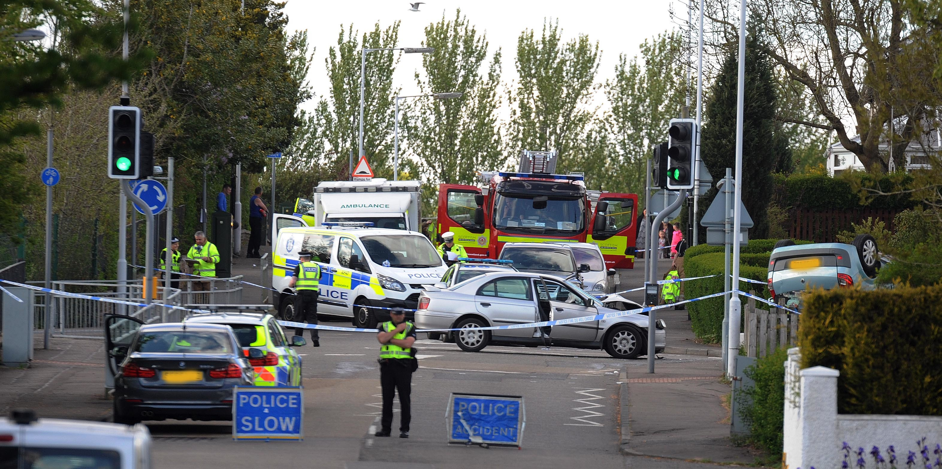 The scene of the accident on May 15.