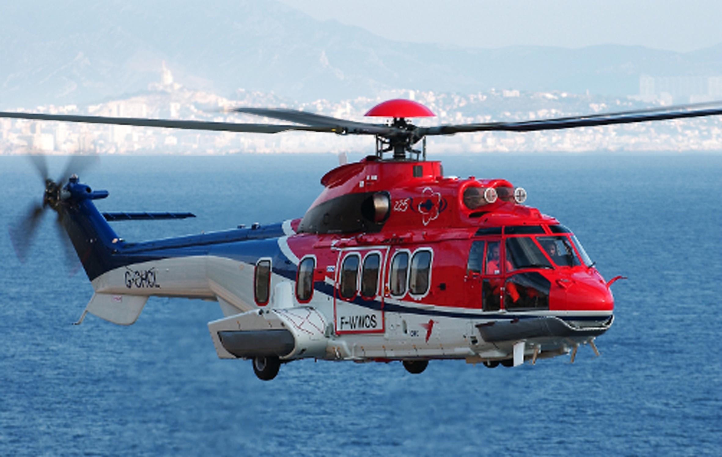 The Super Puma H225 crashed near the Norwegian city of Bergen.