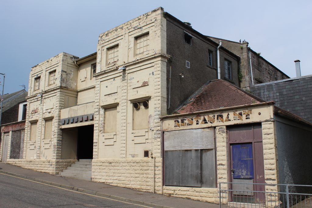 Boarded Up Flicks nightclub in Brechin is another place Jag and Bro Betty of SPiS have explored.