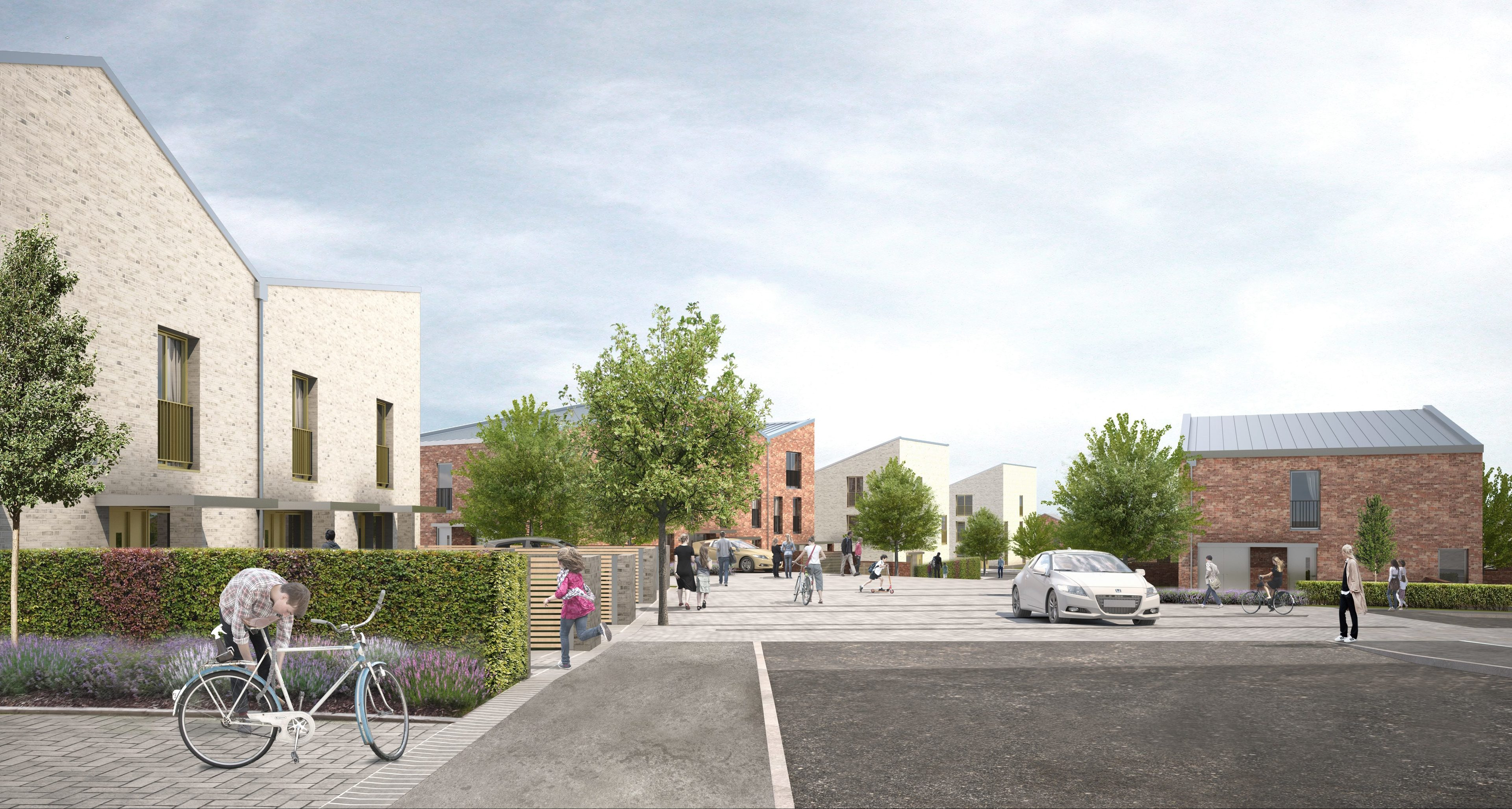 How the first phase of the £26 million development will look