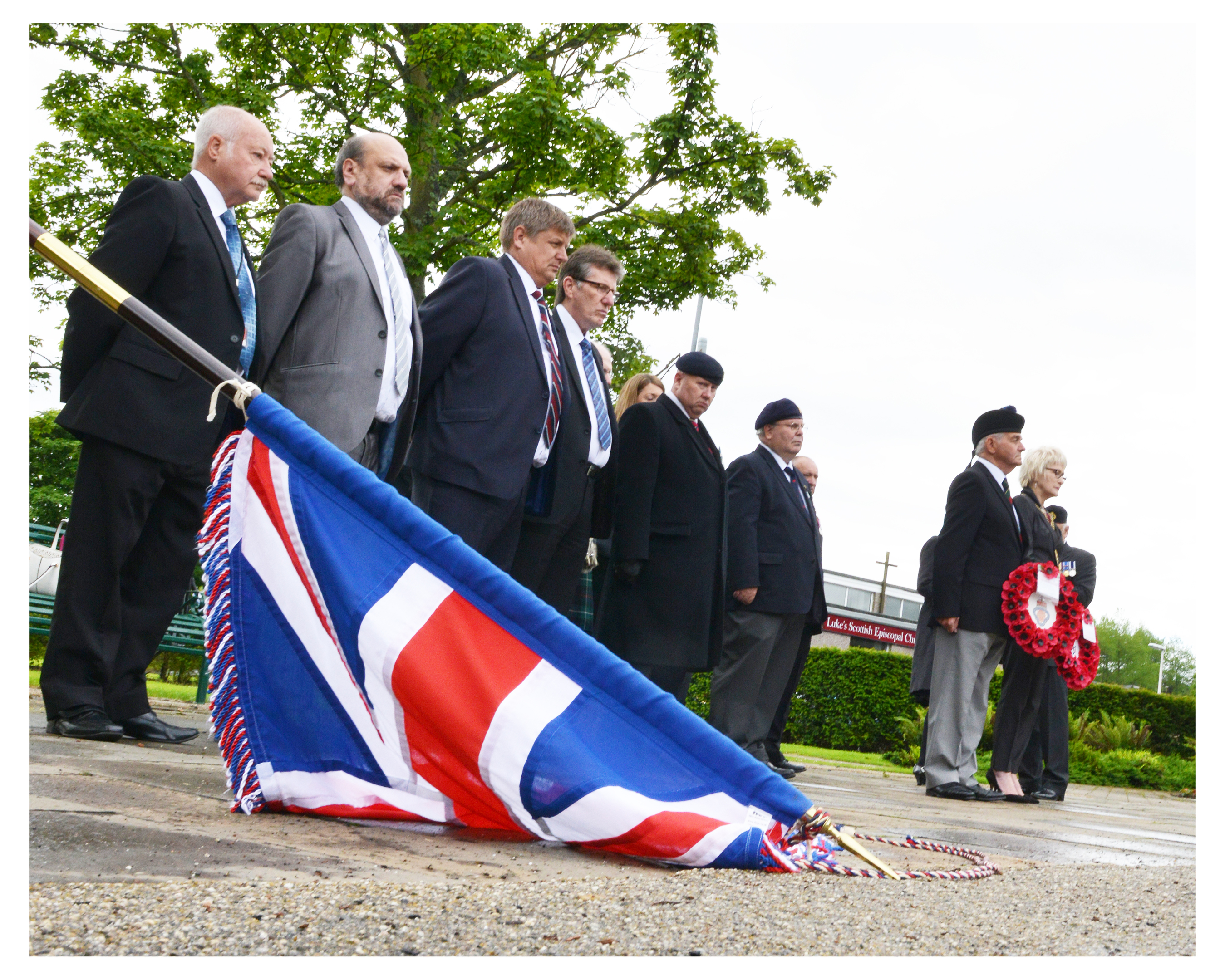 Armed Forces Day was marked in Glenrothes